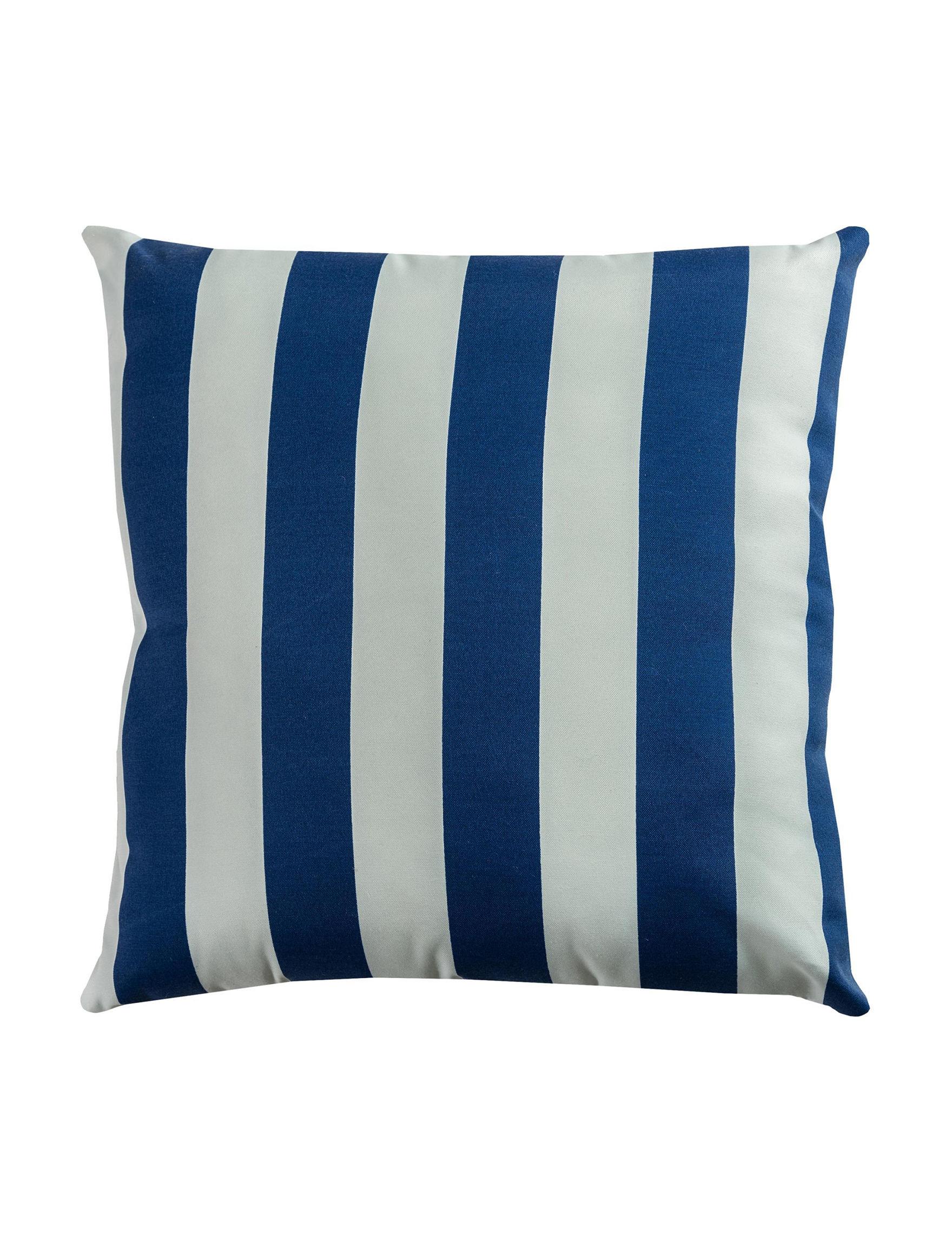 Rizzy Home Blue / White Decorative Pillows