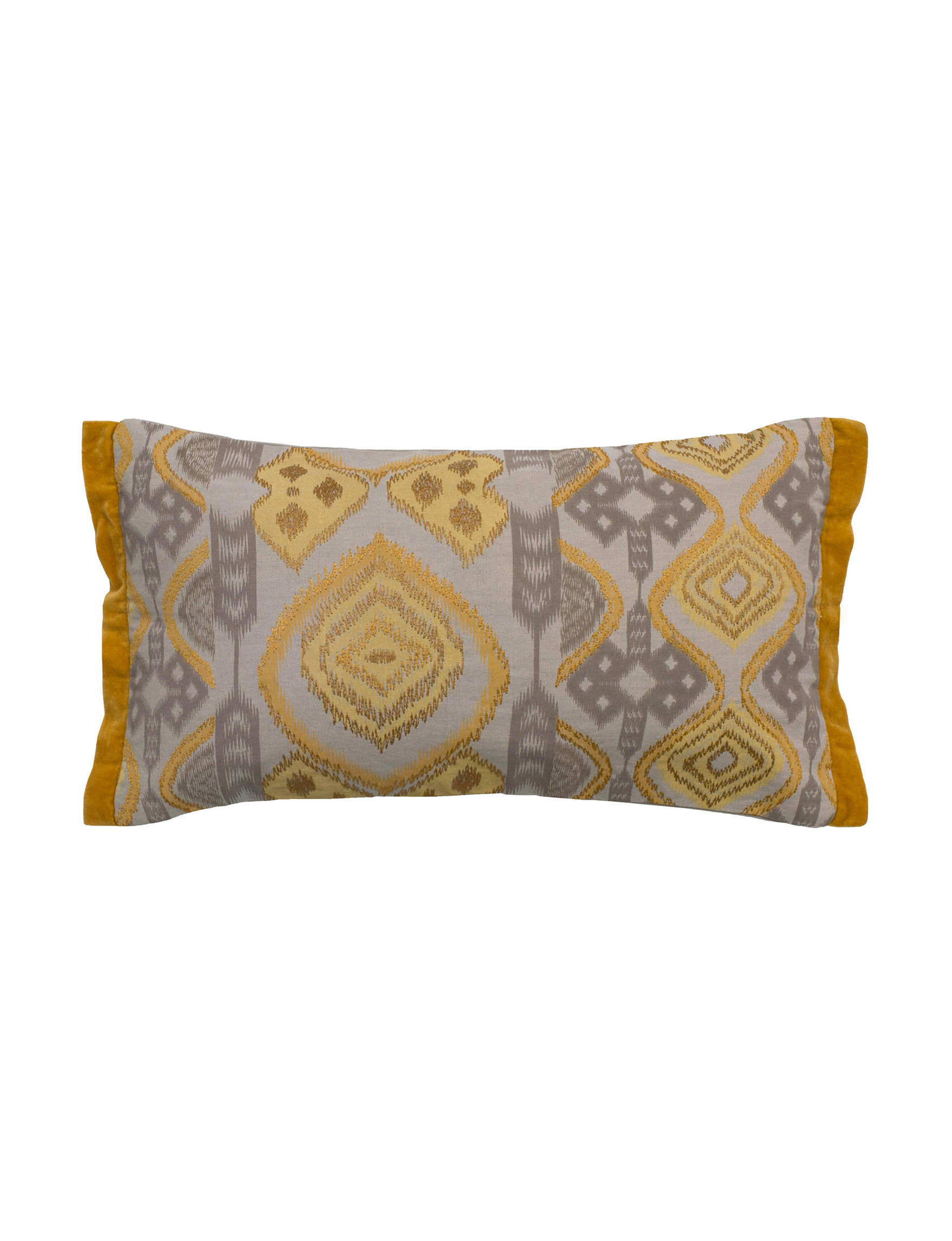 Rizzy Home Beige/Khaki Decorative Pillows