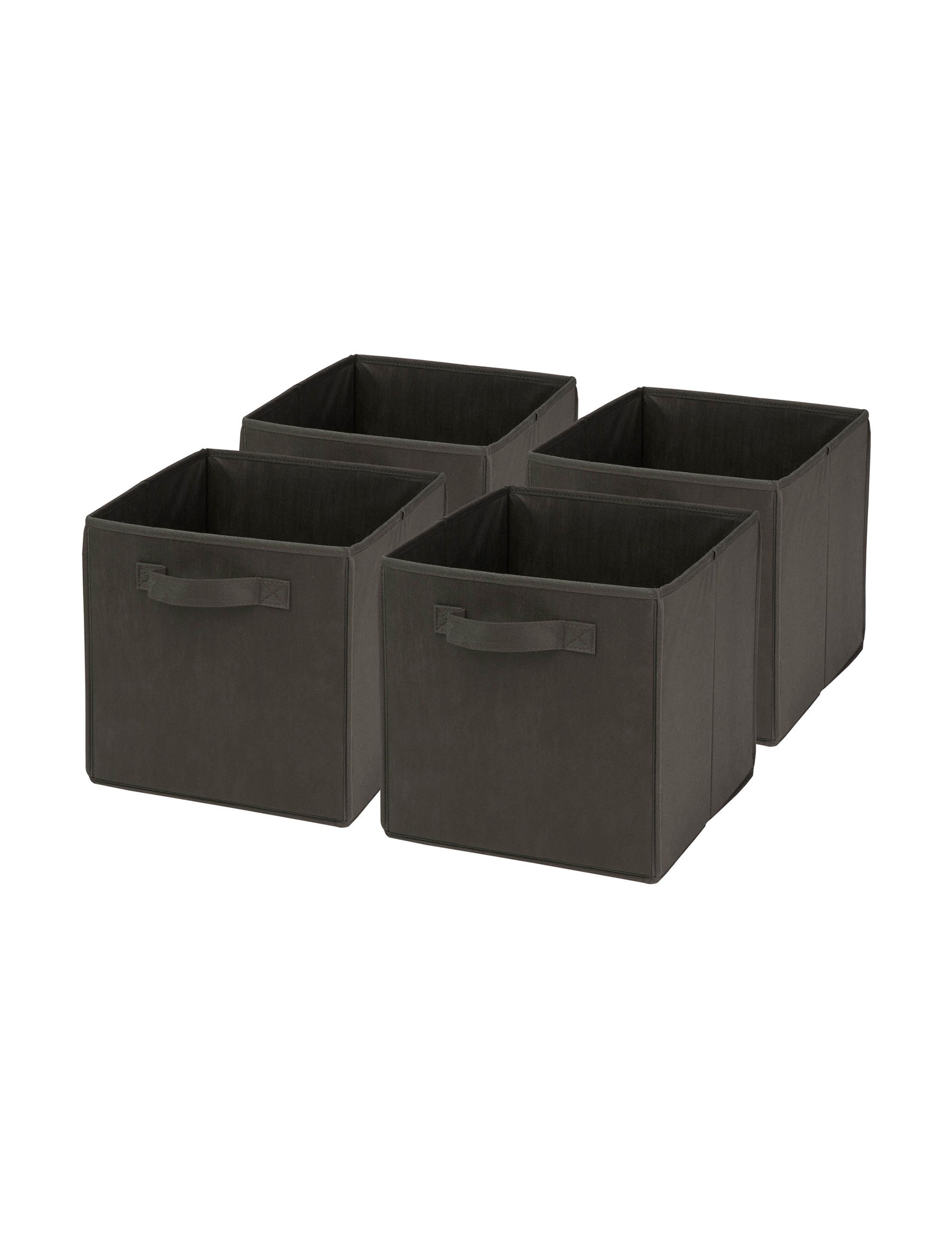 Honey-Can-Do International Black Storage Bags & Boxes Storage & Organization
