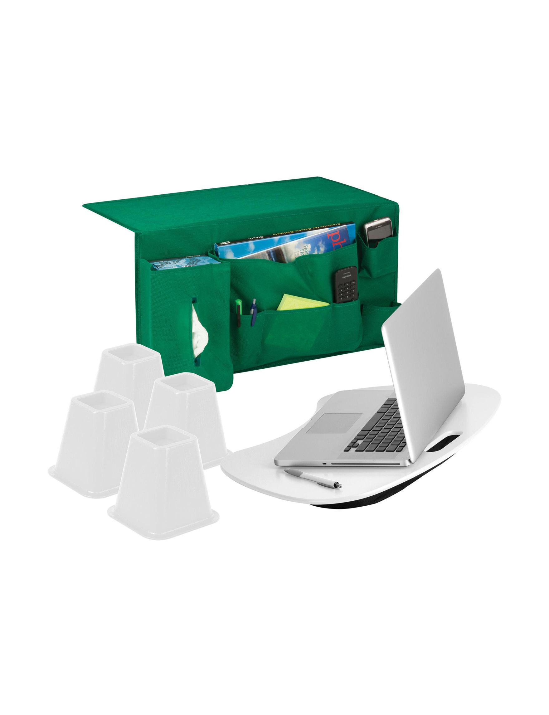 Honey-Can-Do International White / Green Storage & Organization