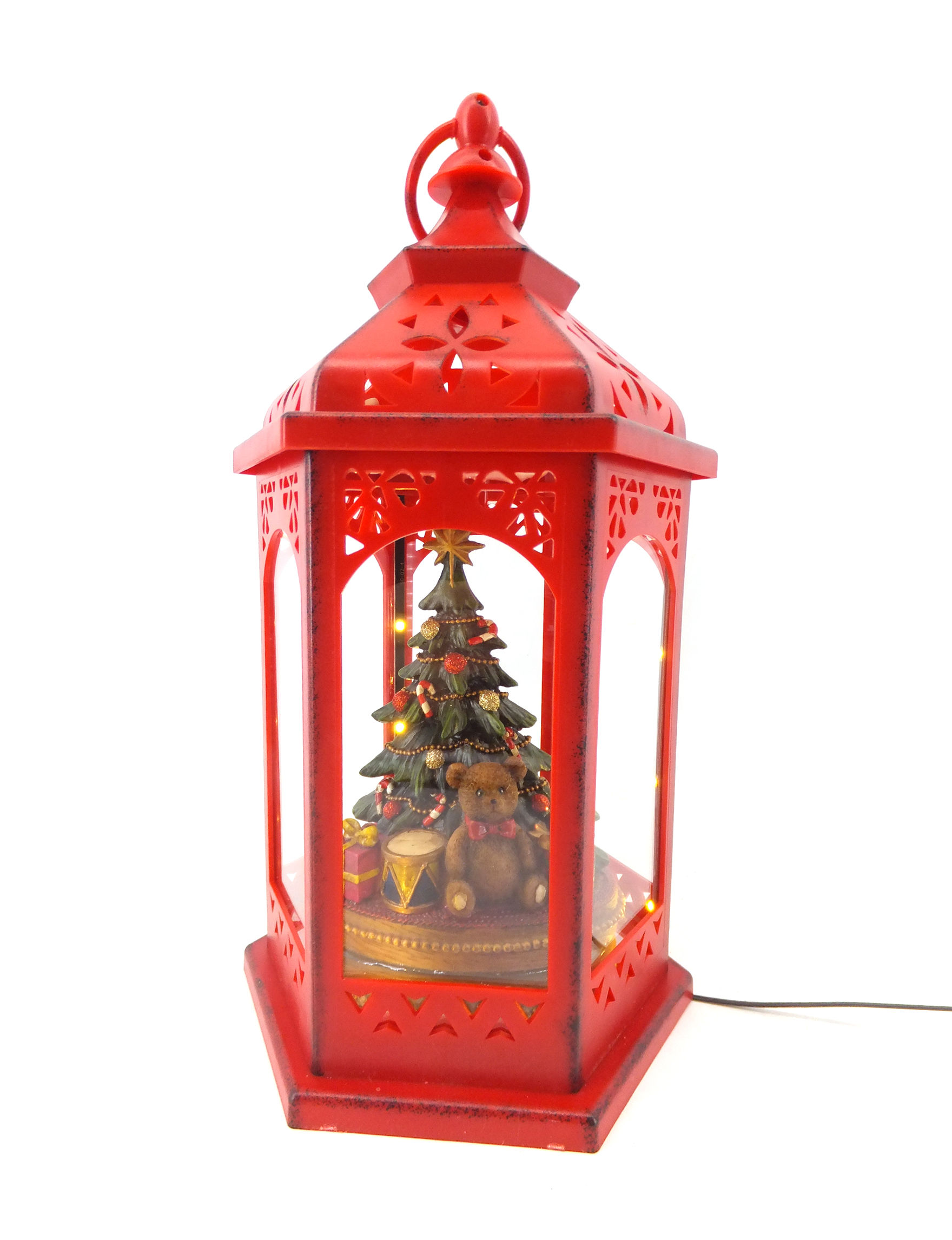 Jingle Bell Lane Red Decorative Objects Holiday Decor