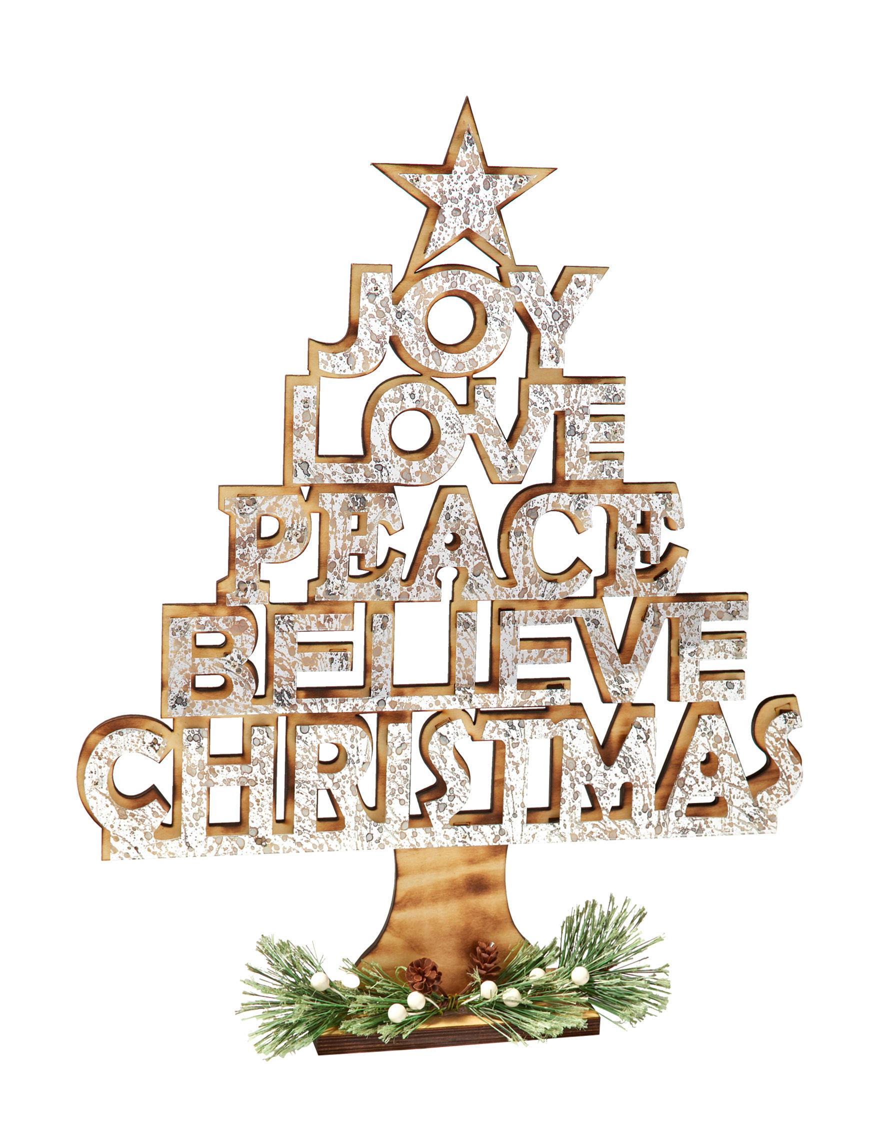 Jingle Bell Lane Black Decorative Objects Holiday Decor