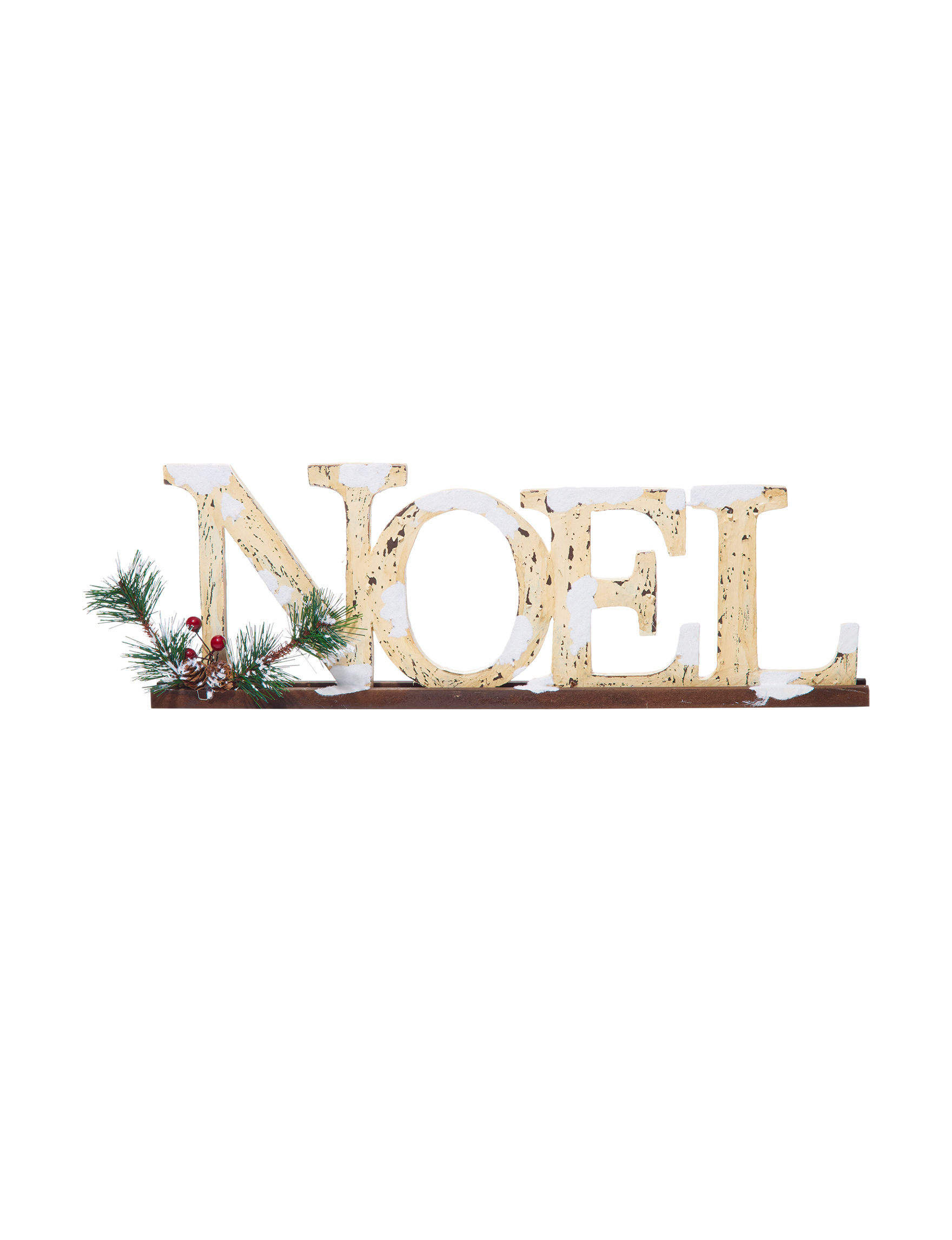 Jingle Bell Lane Off White Decorative Objects Holiday Decor