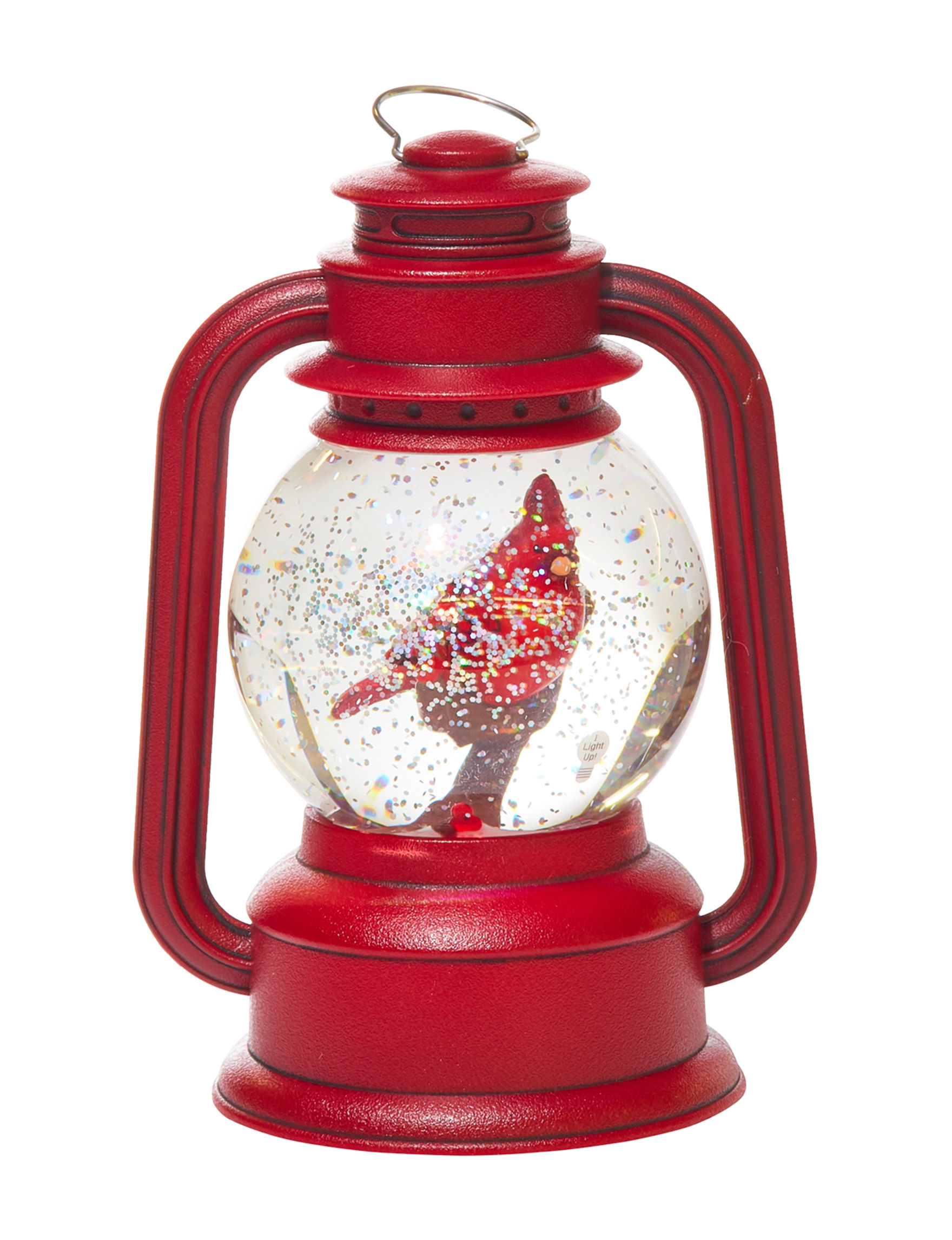 Jingle Bell Lane Red Holiday Decor