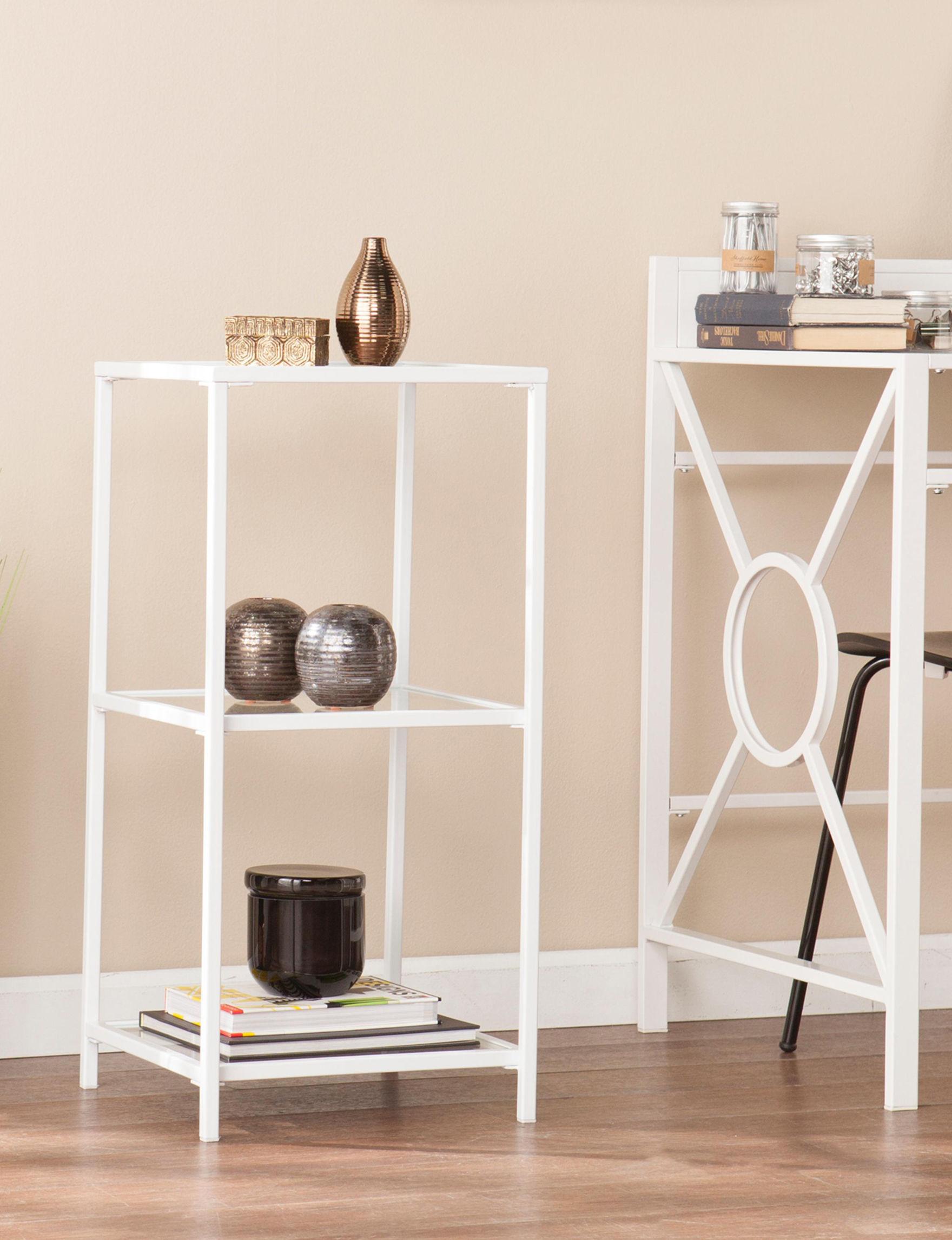 Southern Enterprises  Bookcases & Shelves Storage Shelves Home Office Furniture Living Room Furniture
