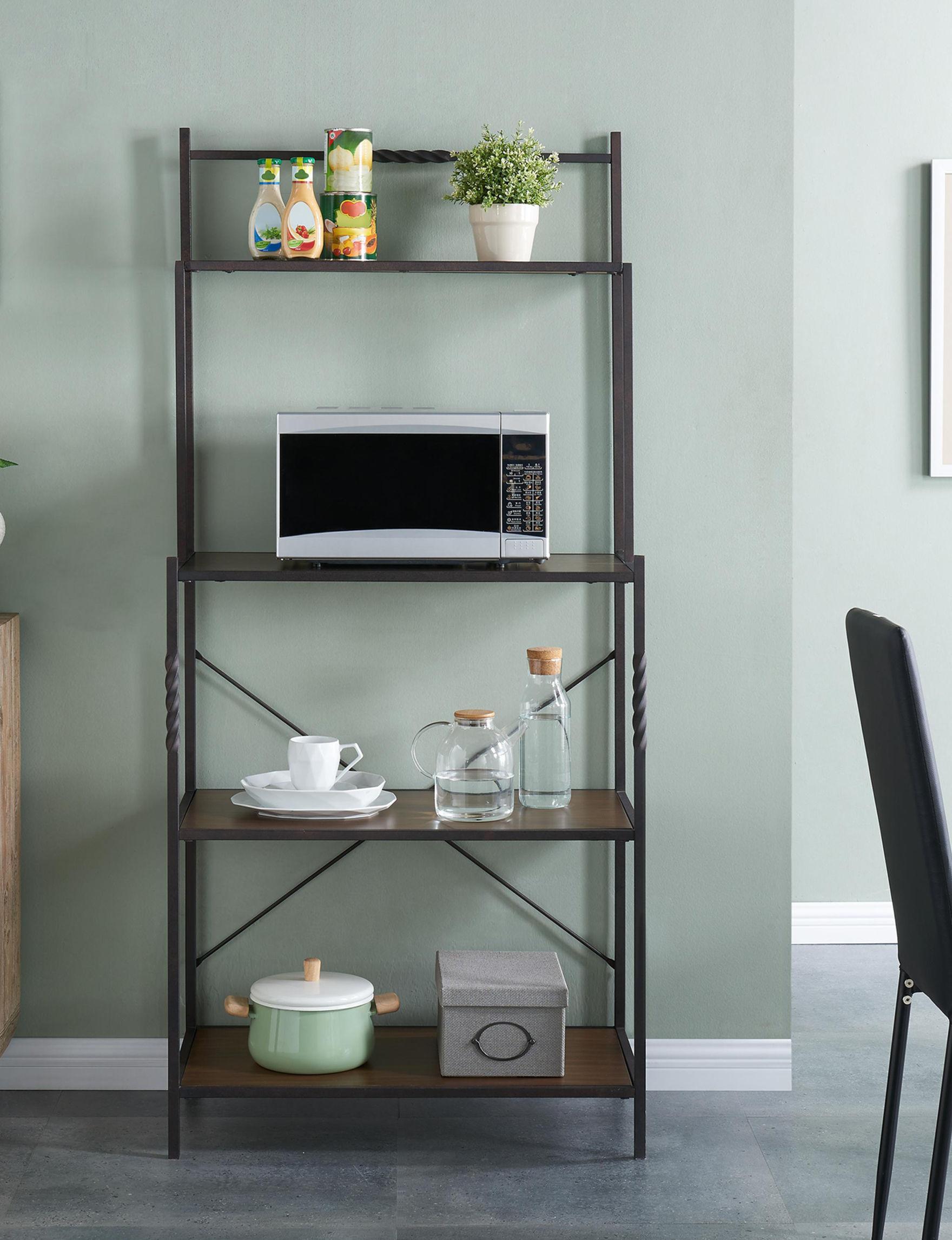 Southern Enterprises  Storage Shelves Kitchen & Dining Furniture Living Room Furniture