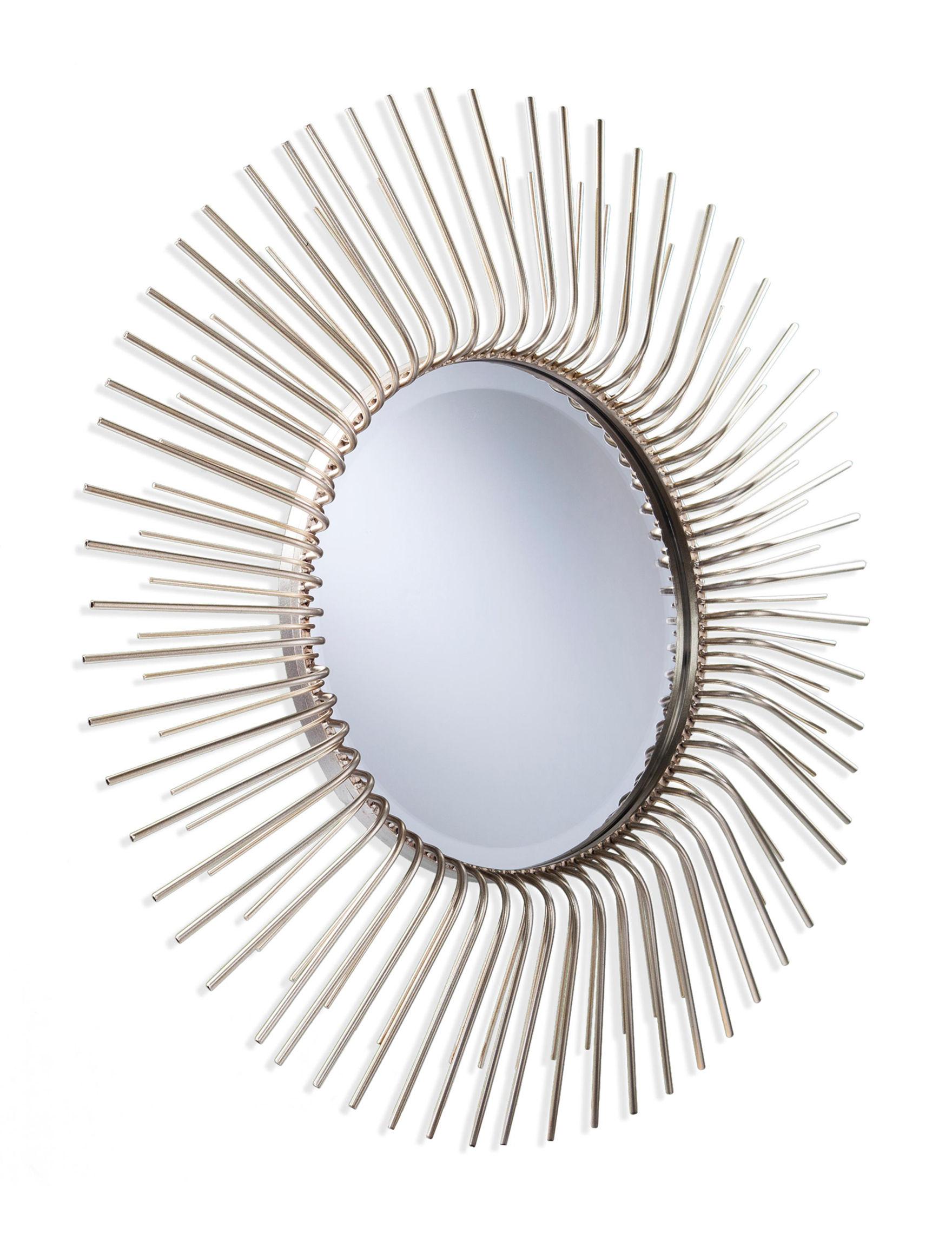 Southern Enterprises Trycille Round Sunburst Wall Mirror