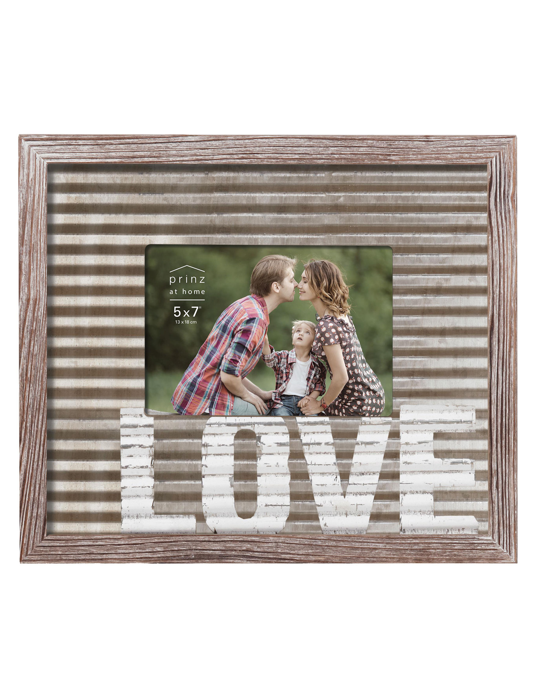 New View Brown Decorative Objects Frames & Shadow Boxes