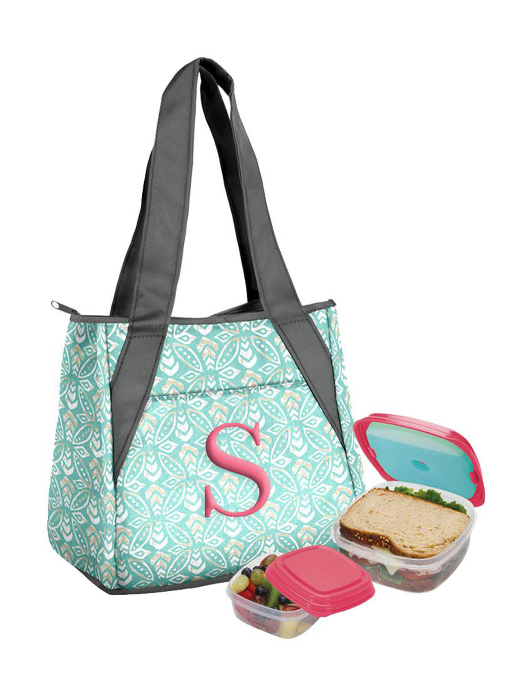 Fit & Fresh Mint Lunch Boxes & Bags Monogram Prep & Tools