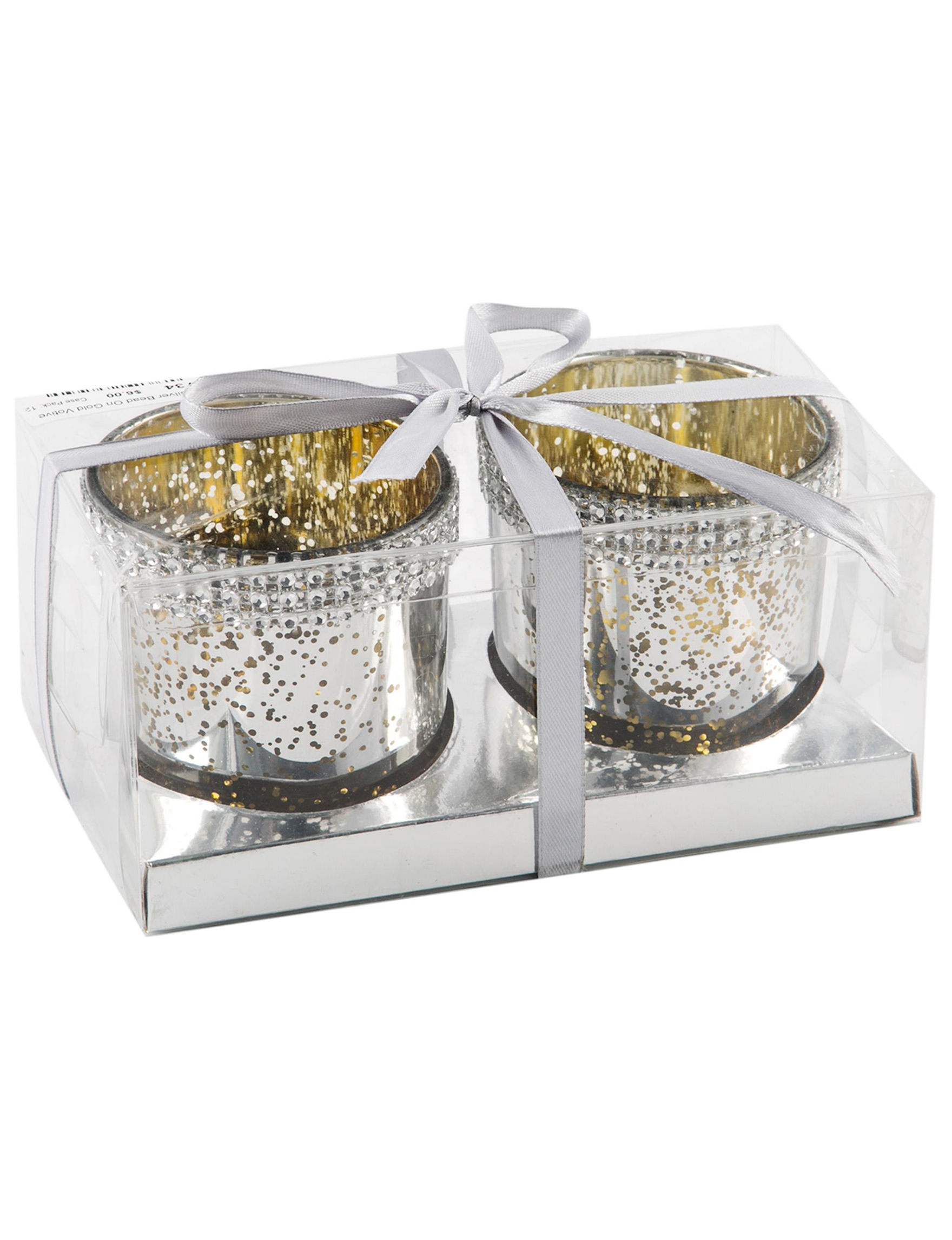 Home Essentials Silver / Gold Decorative Objects Candles & Diffusers Home Accents