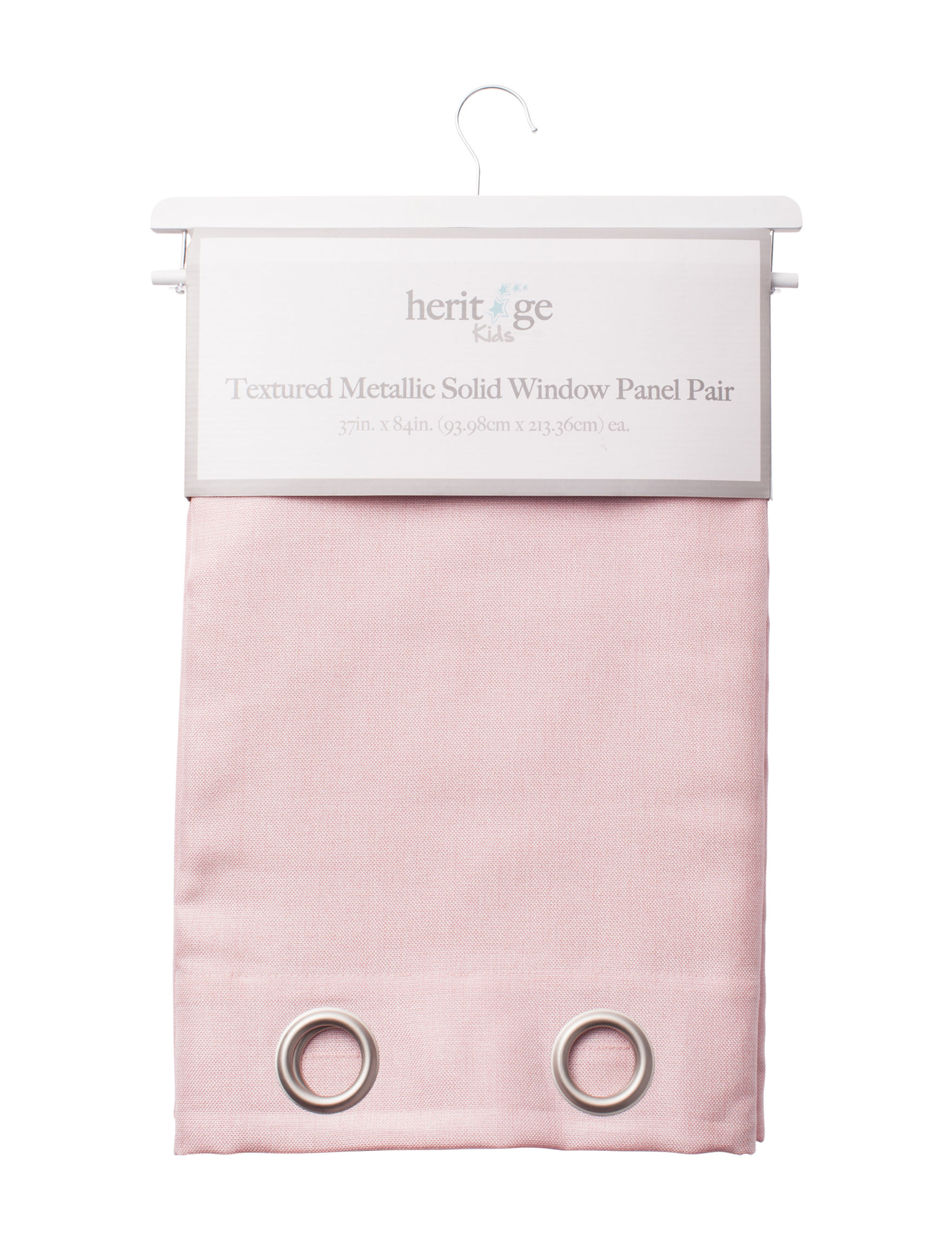 Heritage Kids Blush Curtains & Drapes Window Treatments