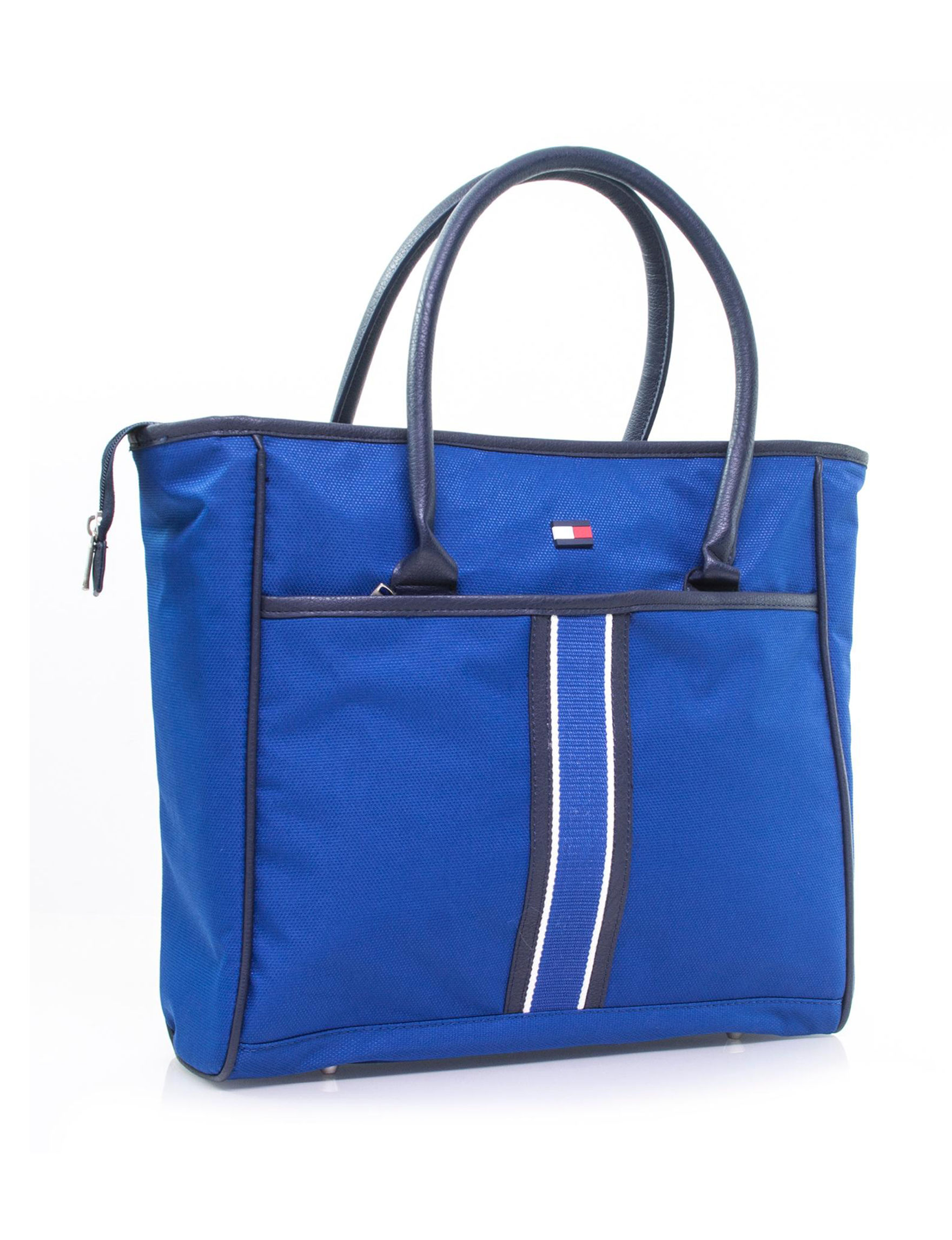 Tommy Hilfiger Blue Carry On Luggage Travel Totes Weekend Bags