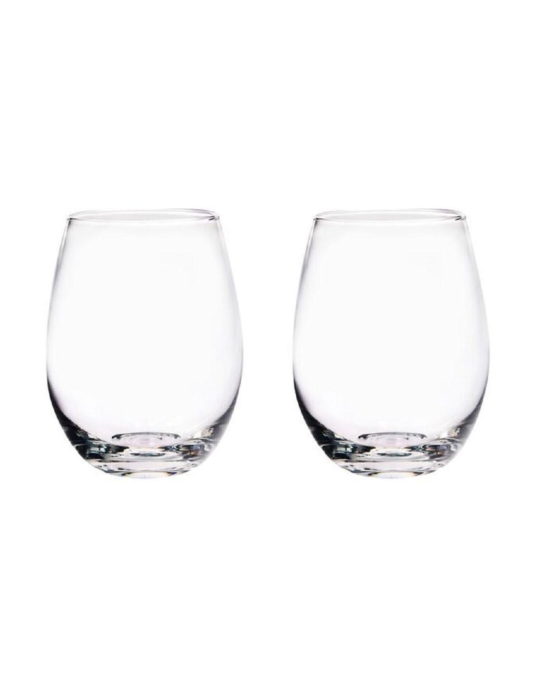 Home Essentials 2-pc. Stemless Wine Glass Set | Stage Stores