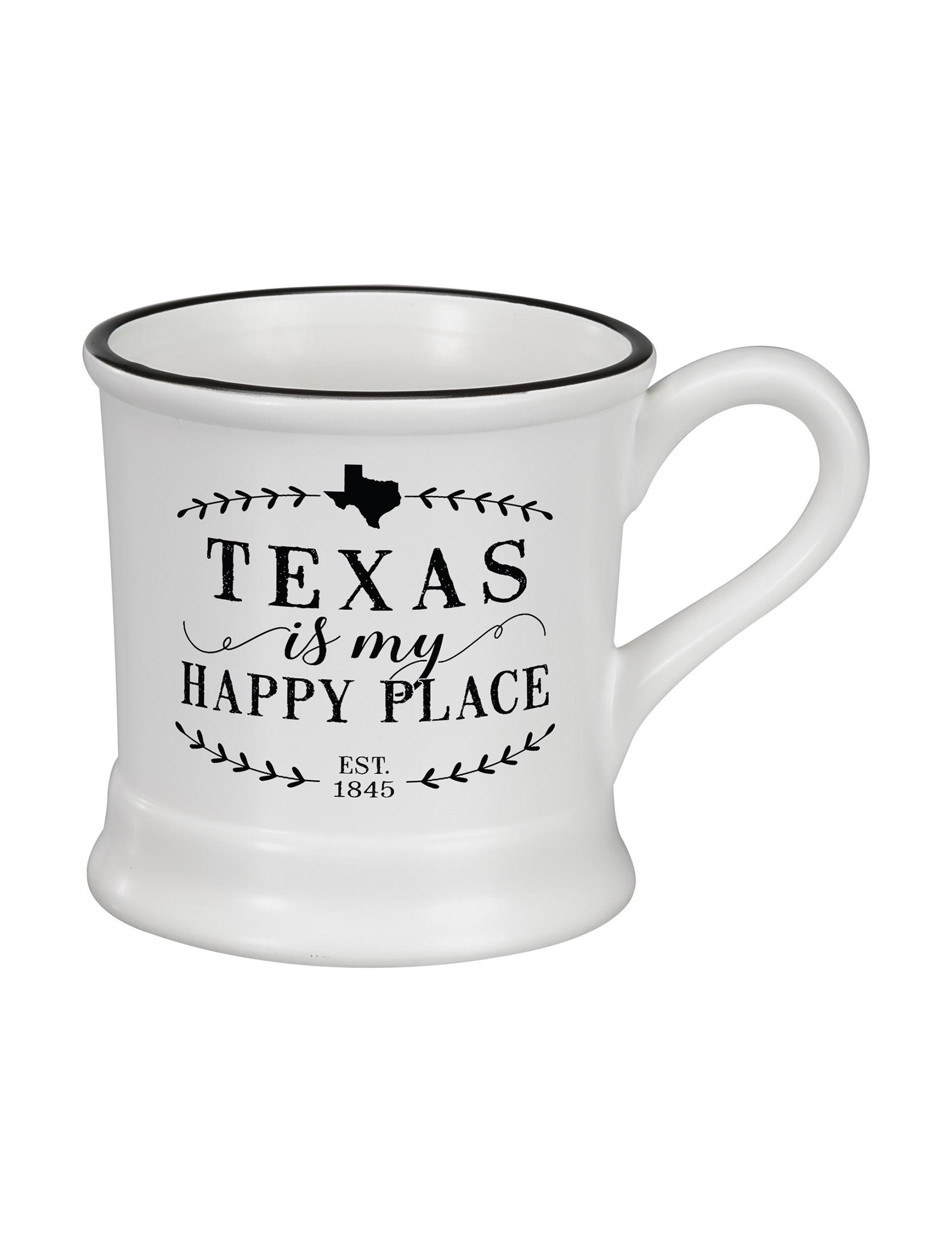 Occasionally Made White Mugs Drinkware