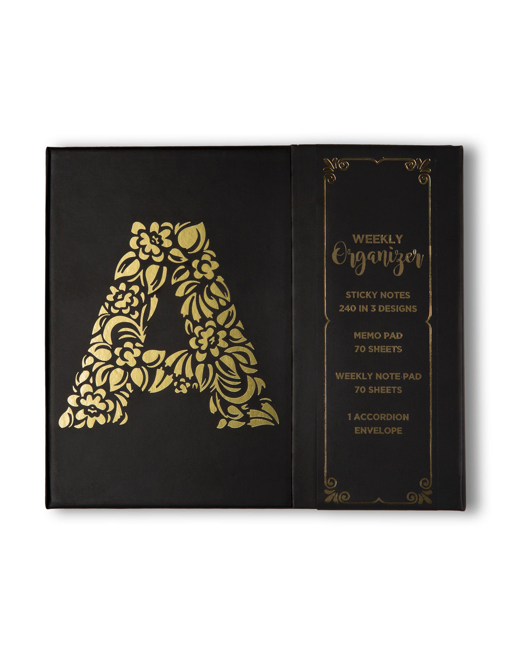 Tri-Coastal Design Black Journals & Notepads Monogram