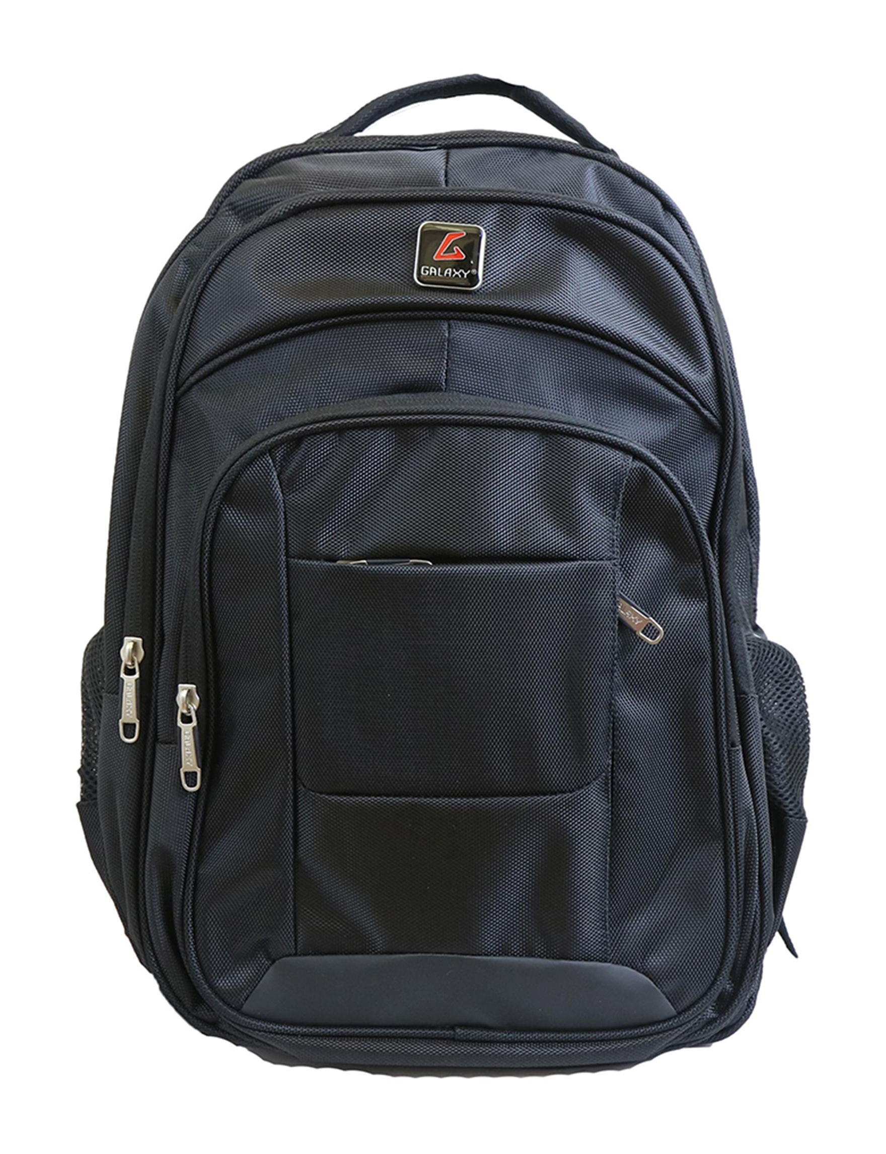 Galaxy by Harvic Black Bookbags & Backpacks