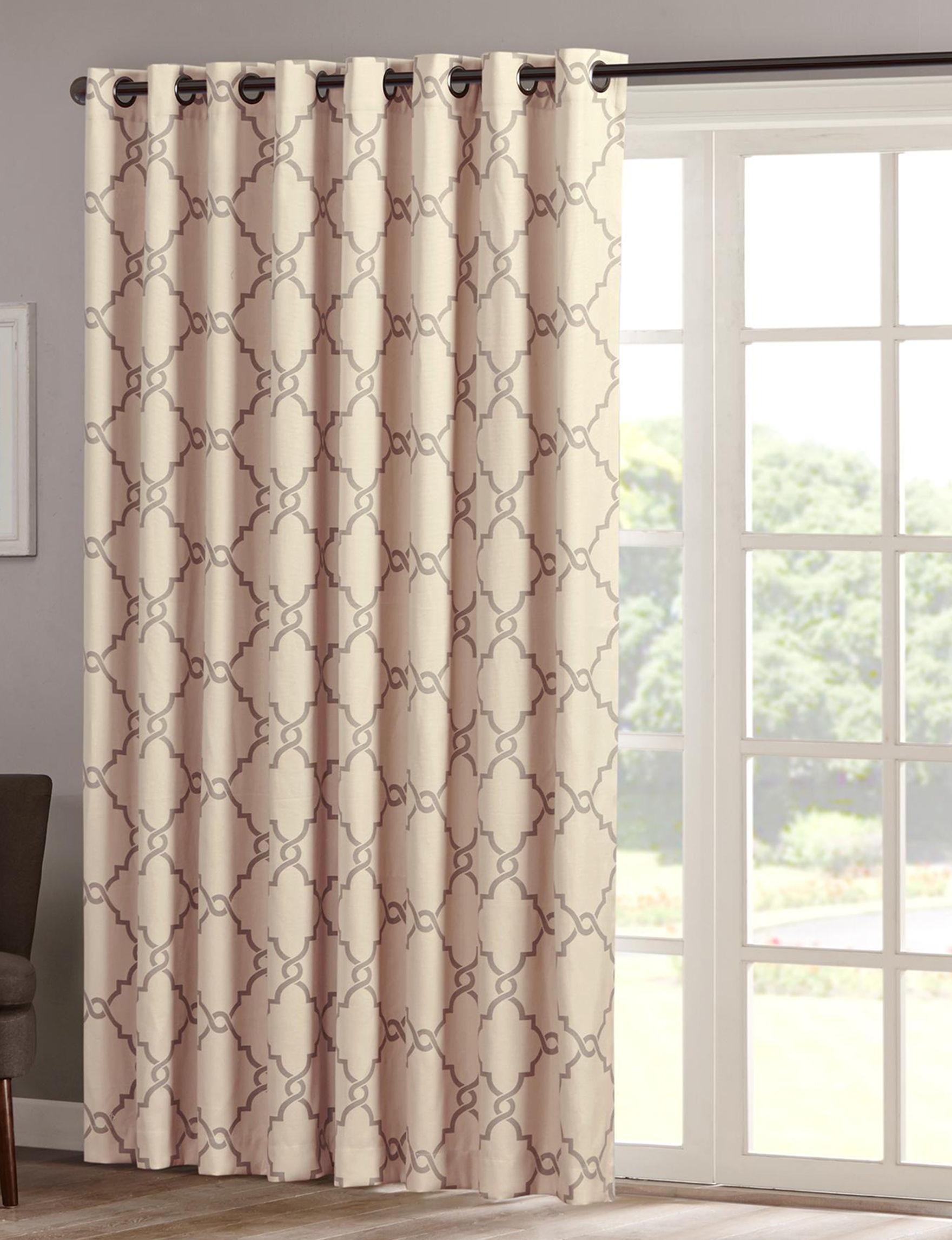 Madison Park Khaki Curtains & Drapes Window Treatments