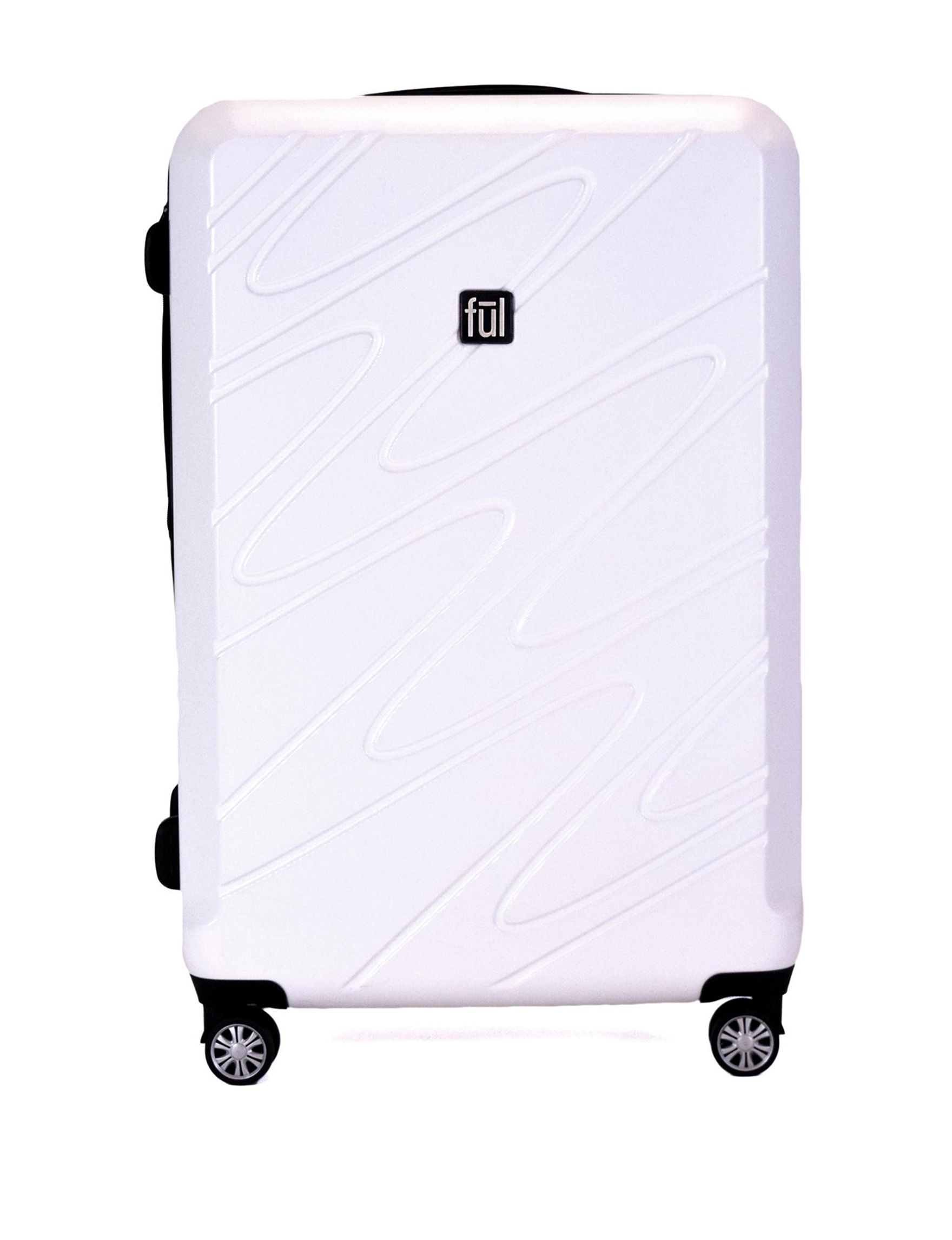 Ful White Upright Spinners