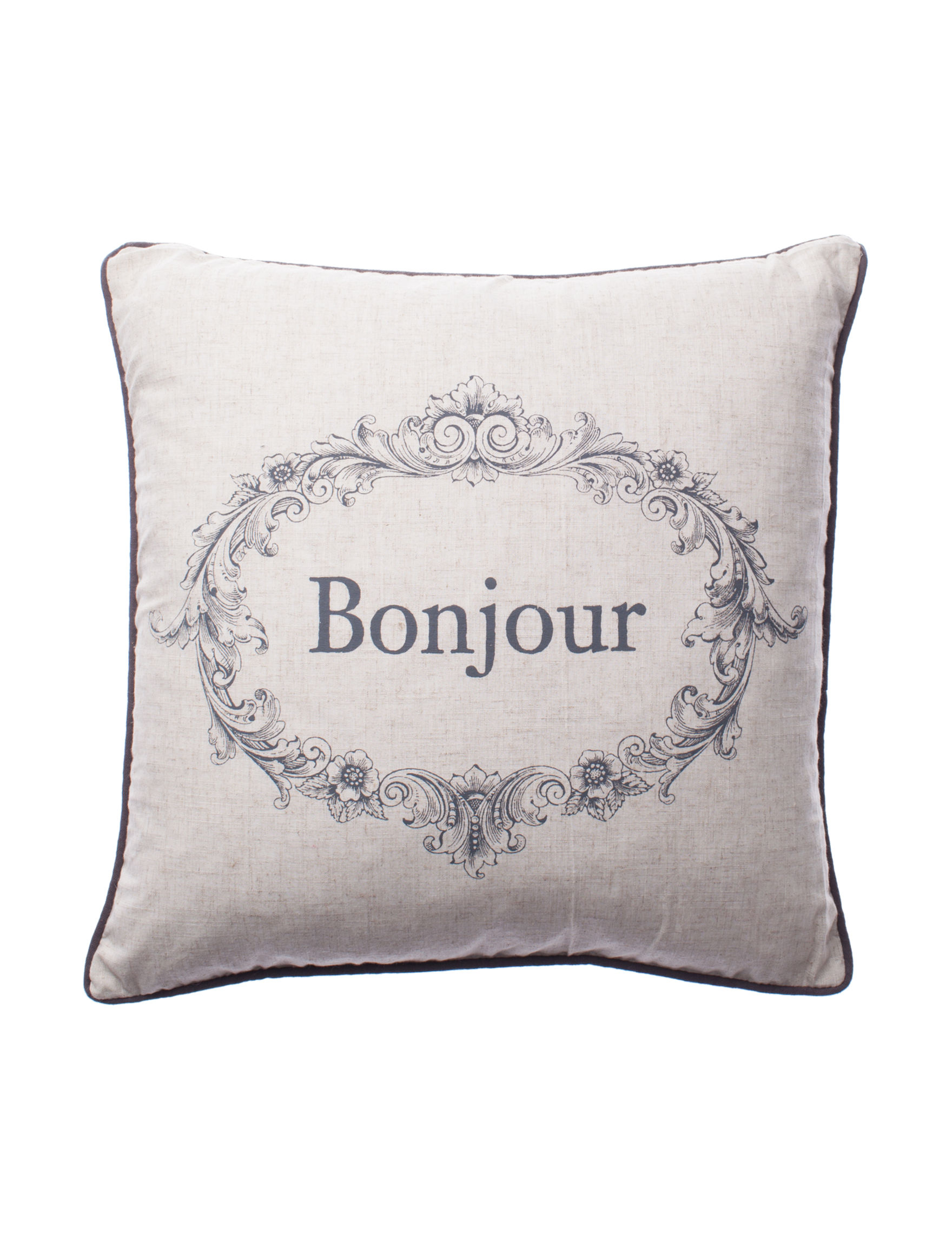 Sheffield Home Beige Decorative Pillows