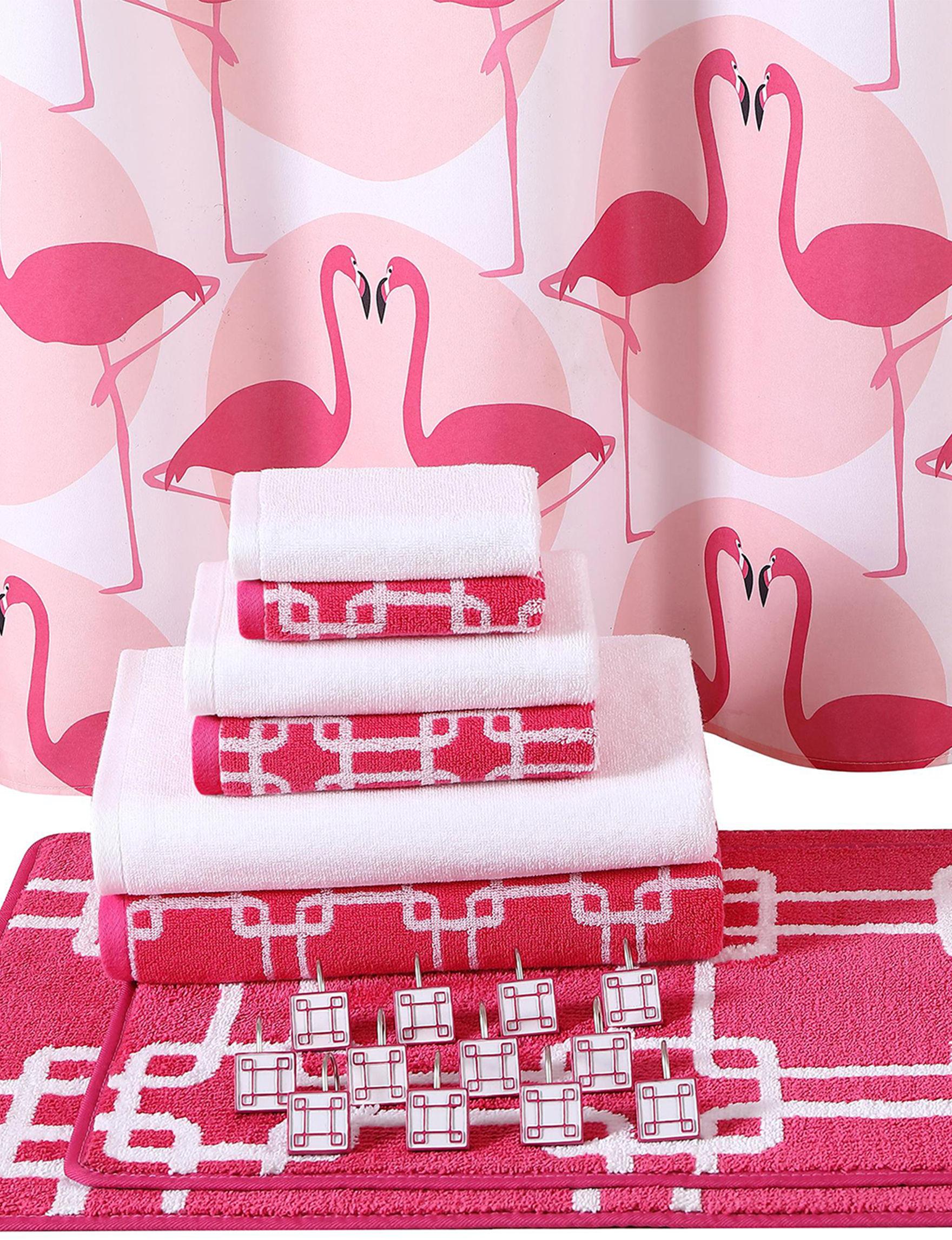 Clairebella  Bath Accessory Sets Bath Rugs & Mats Shower Curtains & Hooks