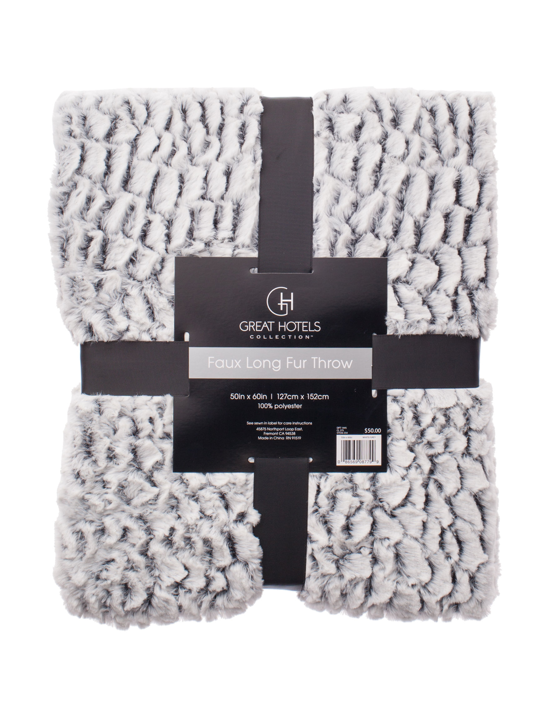 Great Hotels Collection White Blankets & Throws