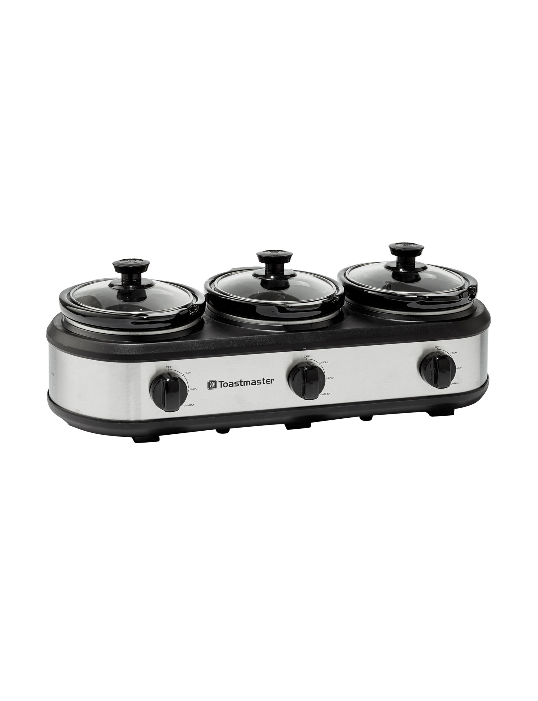 Toastmaster Black Slow Cookers Kitchen Appliances