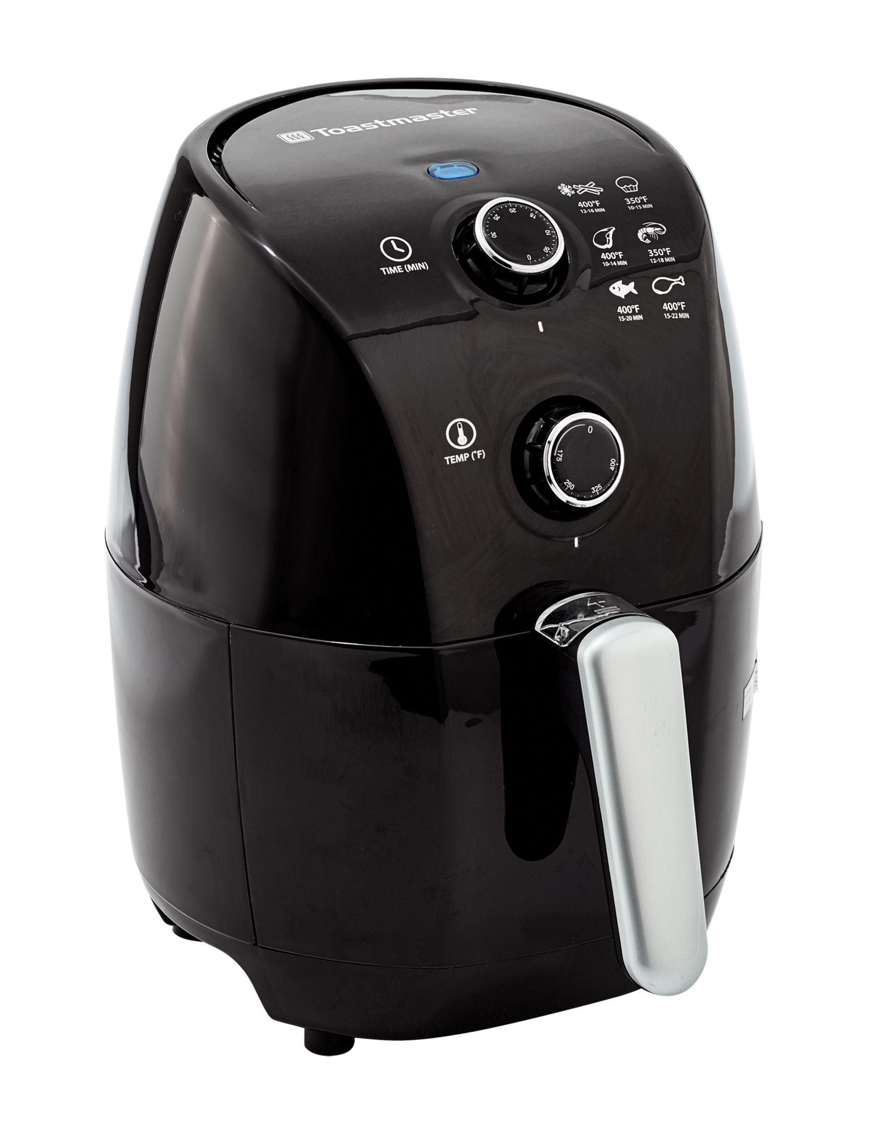 Toastmaster Black Fryers Kitchen Appliances