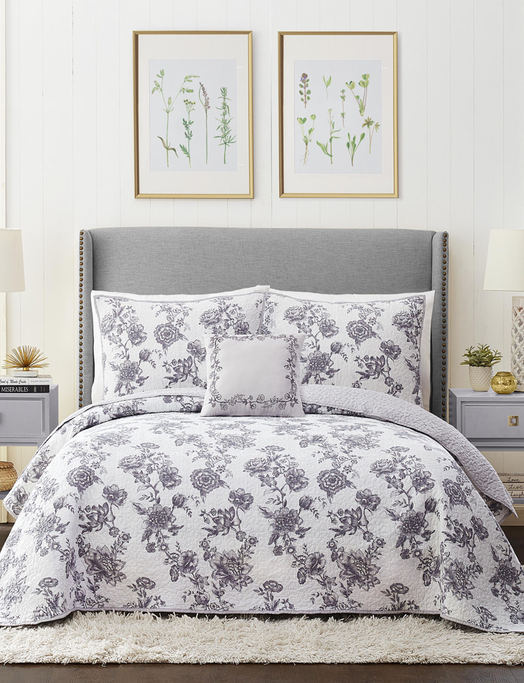 Modern Heirloom White Multi Quilts & Quilt Sets