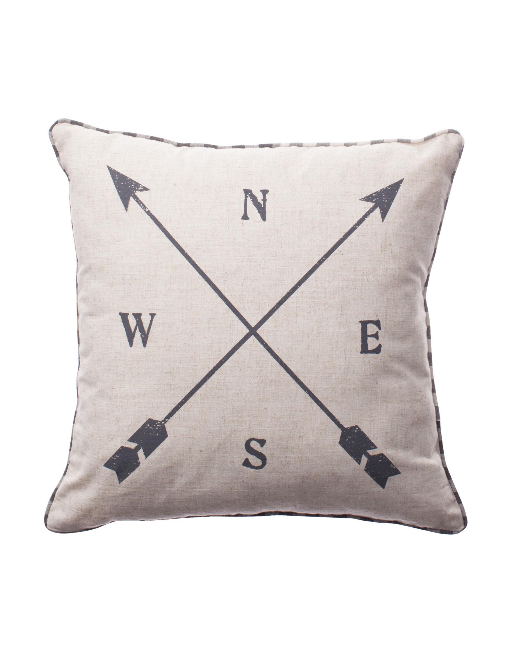 Deco Beige Decorative Pillows