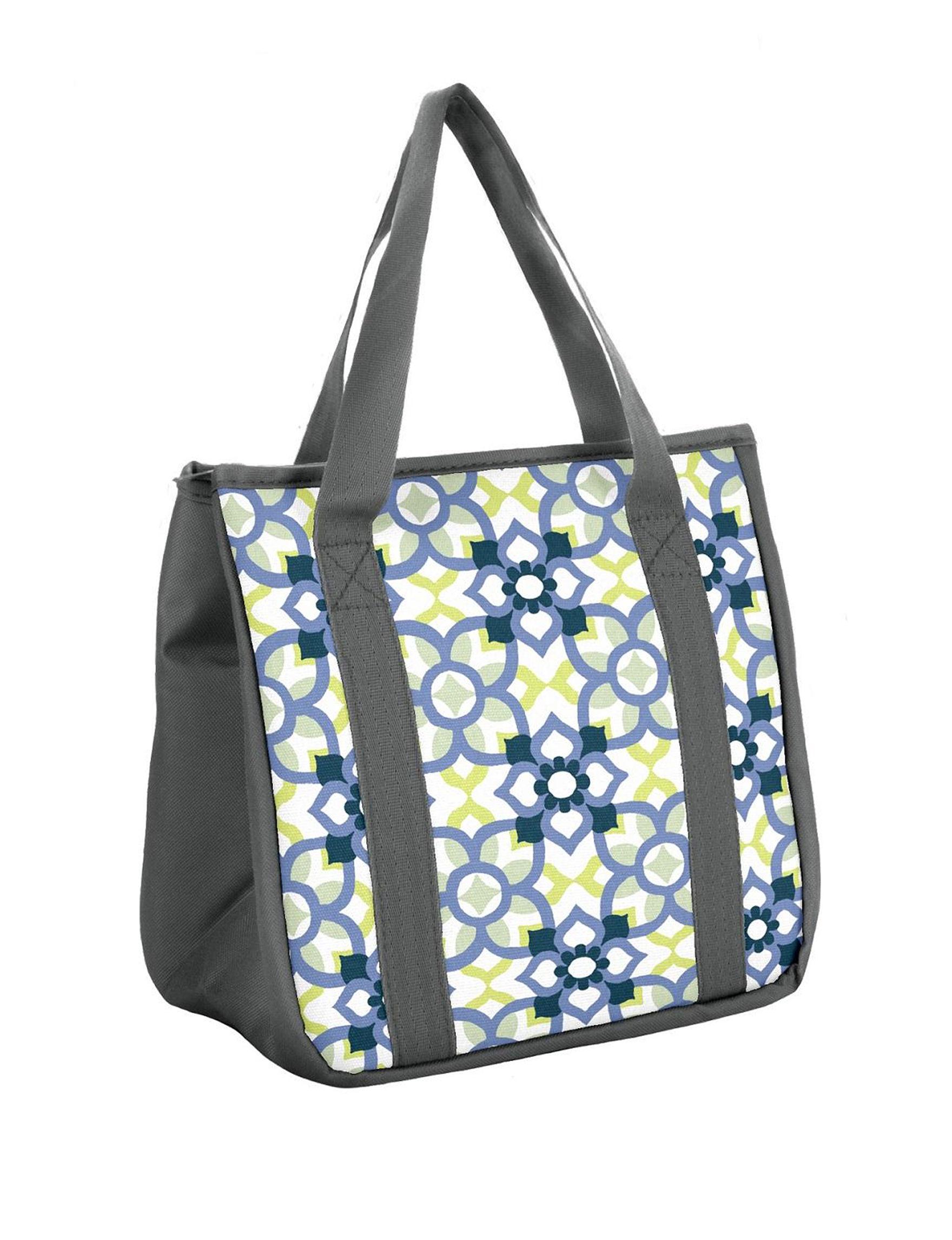 Fit & Fresh Grey Multi Lunch Boxes & Bags Kitchen Storage & Organization