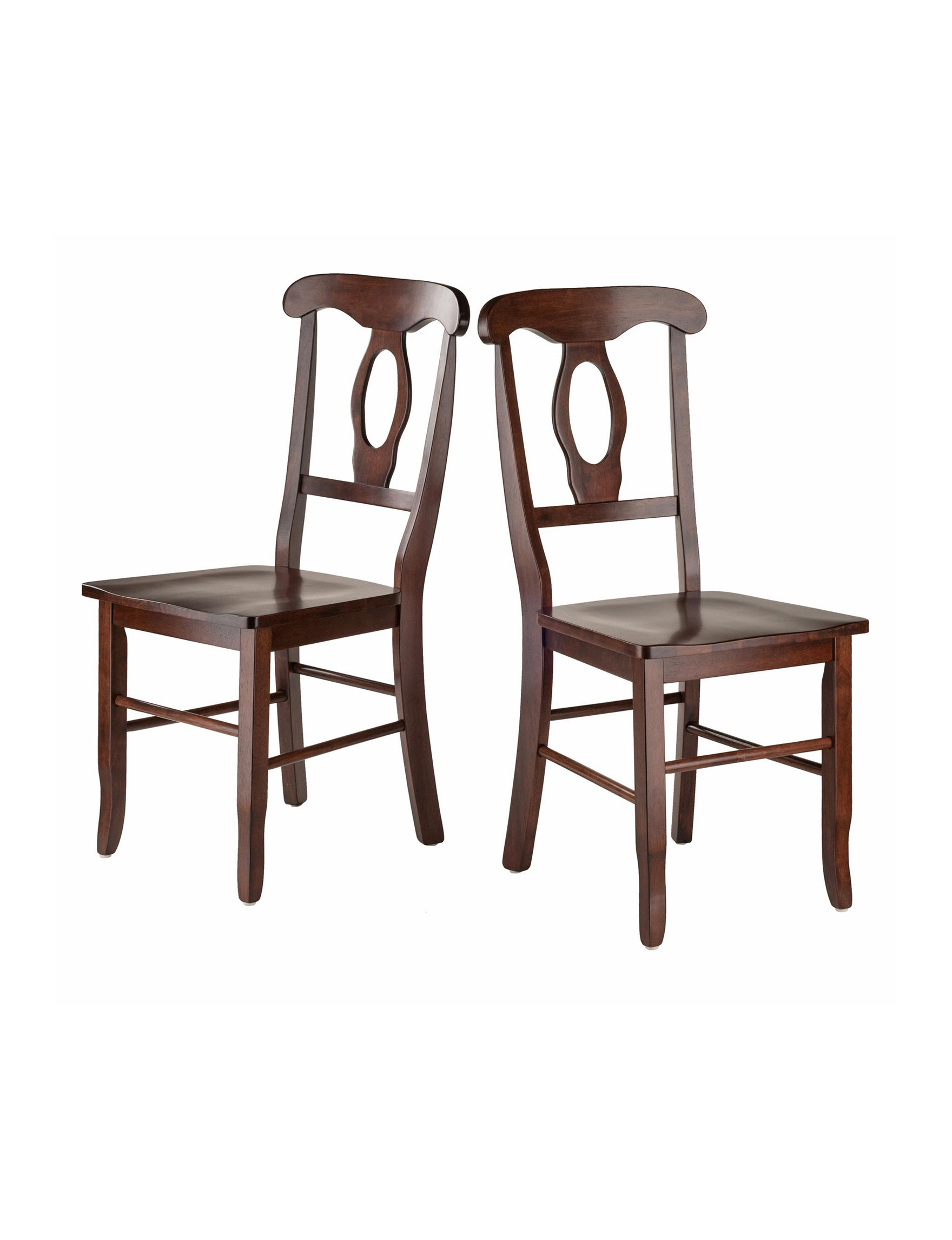 Winsome Walnut Dining Chairs Kitchen & Dining Furniture