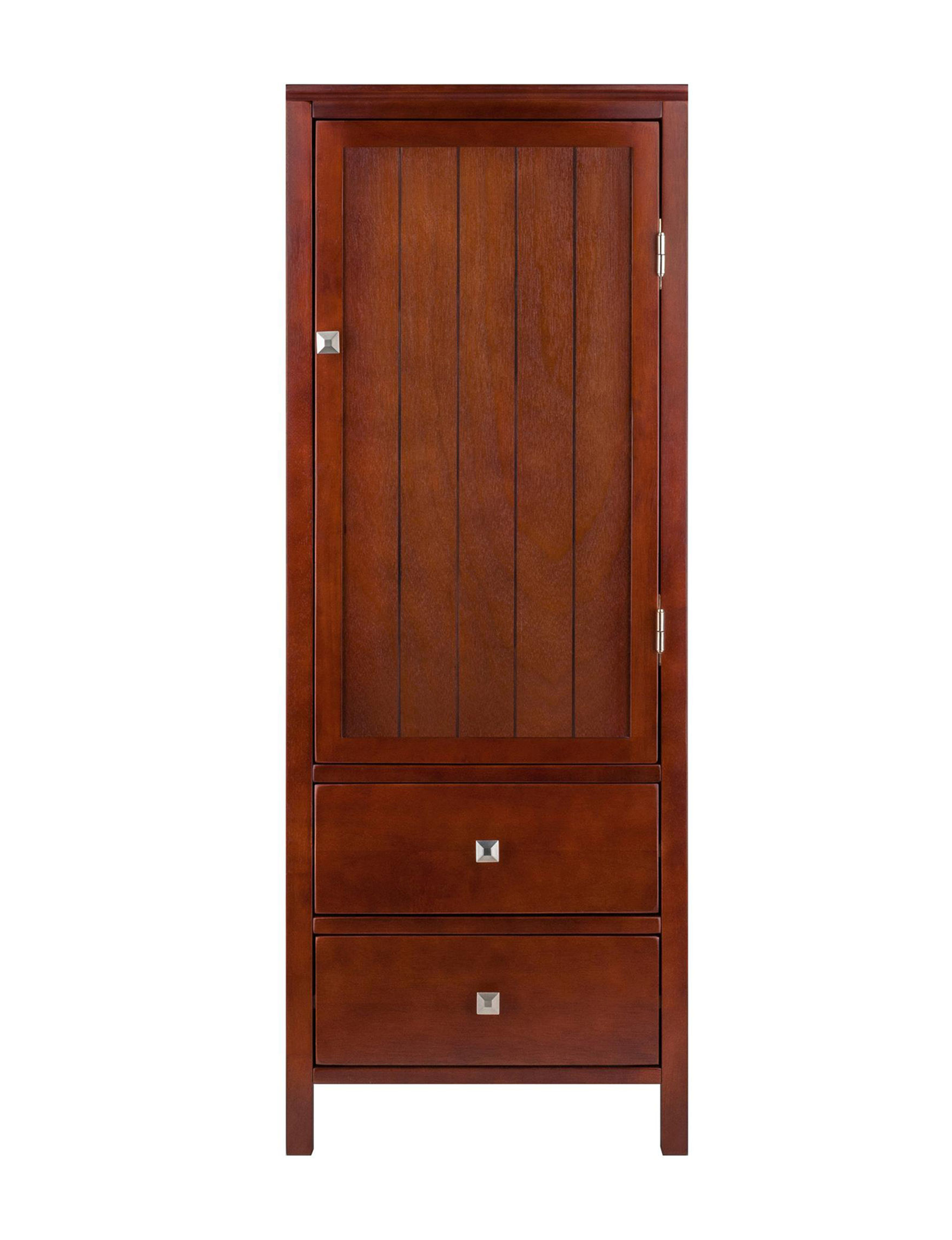Winsome Walnut Cabinets & Cupboards Kitchen & Dining Furniture