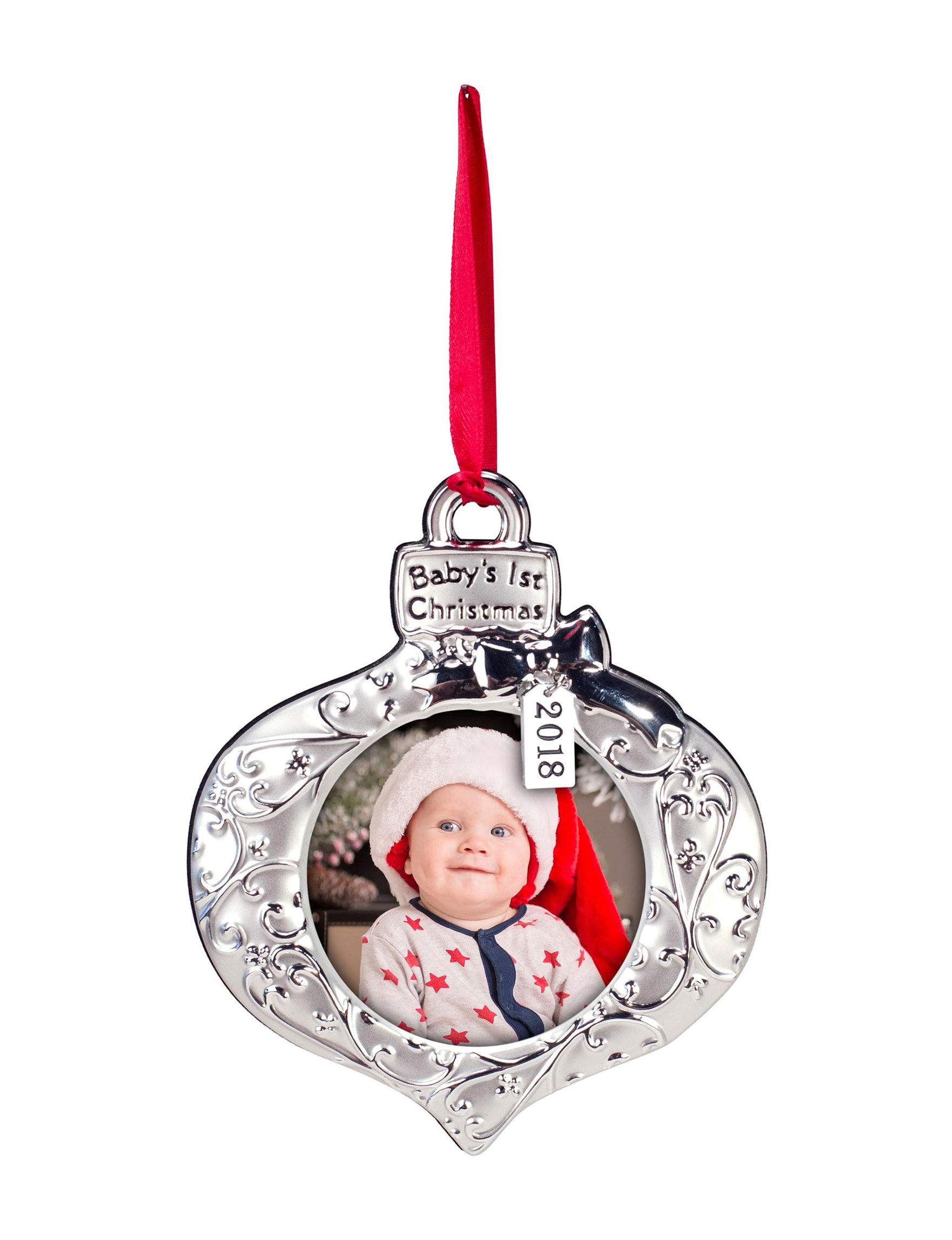 Malden Silver Ornaments Frames & Shadow Boxes Holiday Decor