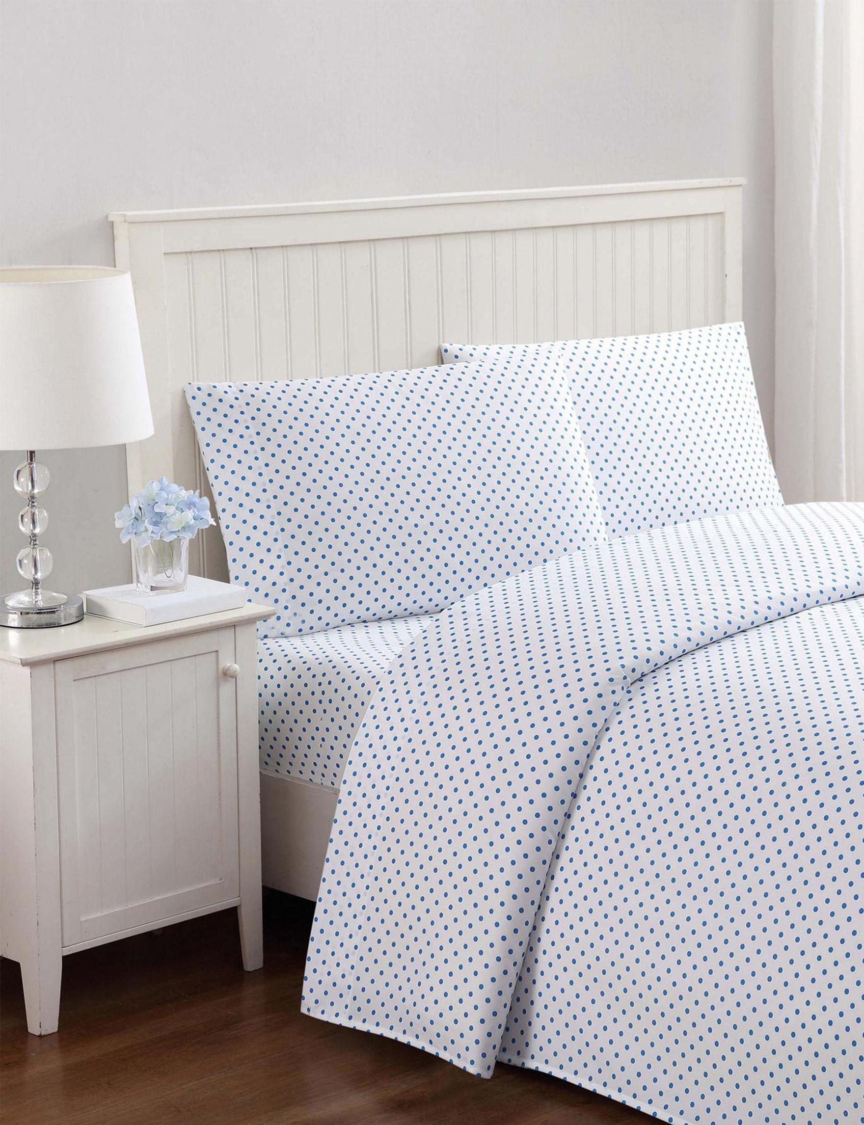 Laura Hart Kids Aqua Sheets & Pillowcases