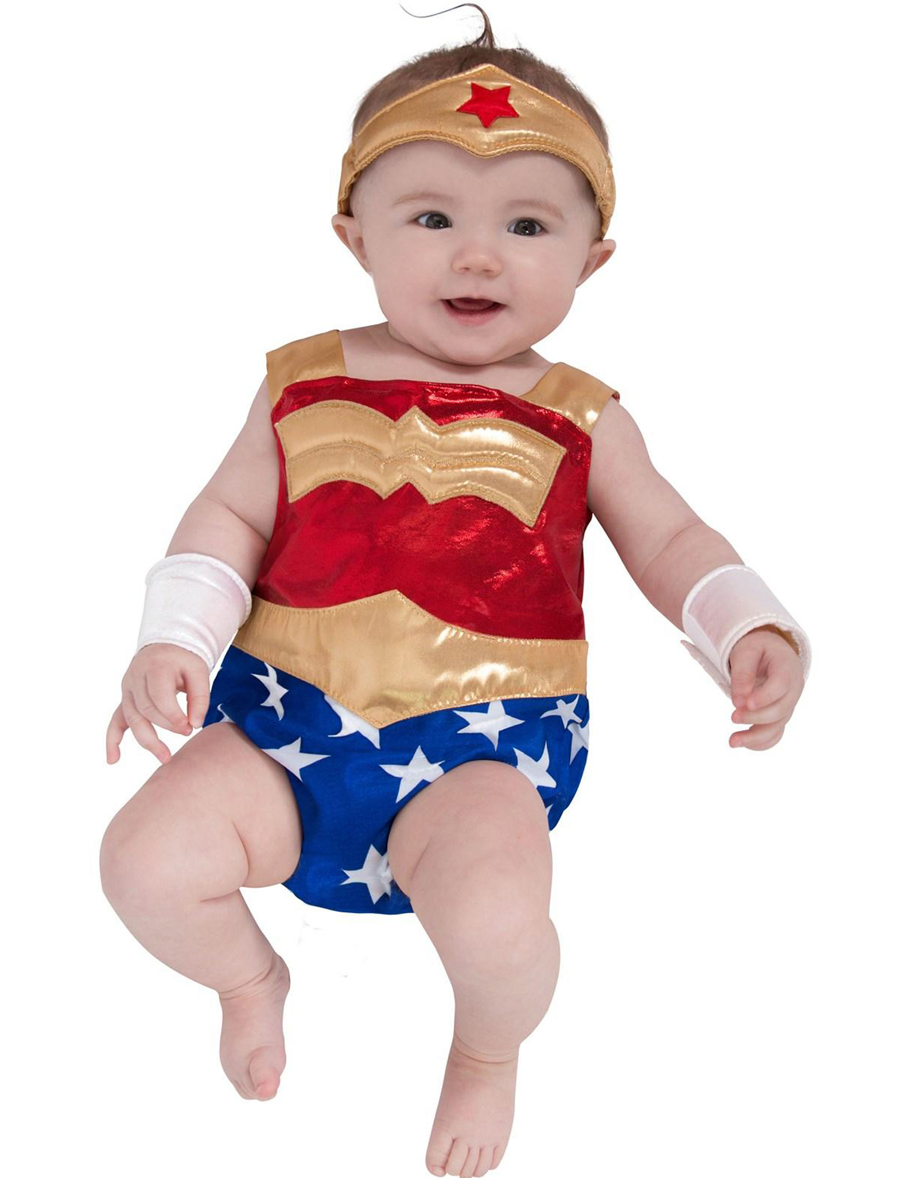 DC Comics Wonder Woman Infant Costume  sc 1 st  Stage Stores & 4-pc. DC Comics Wonder Woman Infant Costume | Stage Stores
