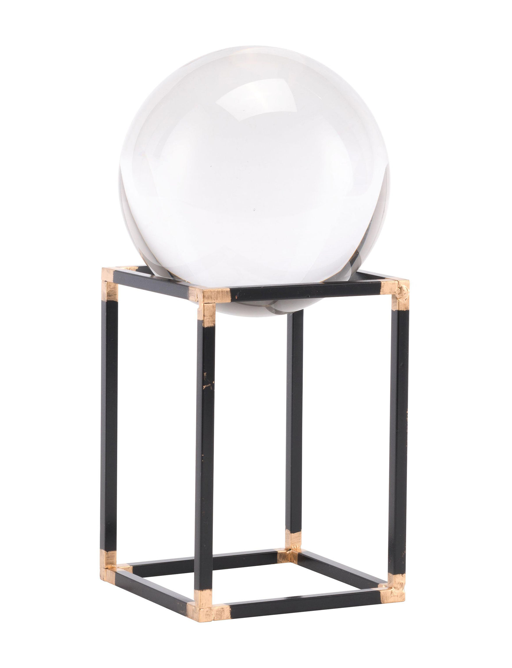 Zuo Modern Black Decorative Objects Home Accents