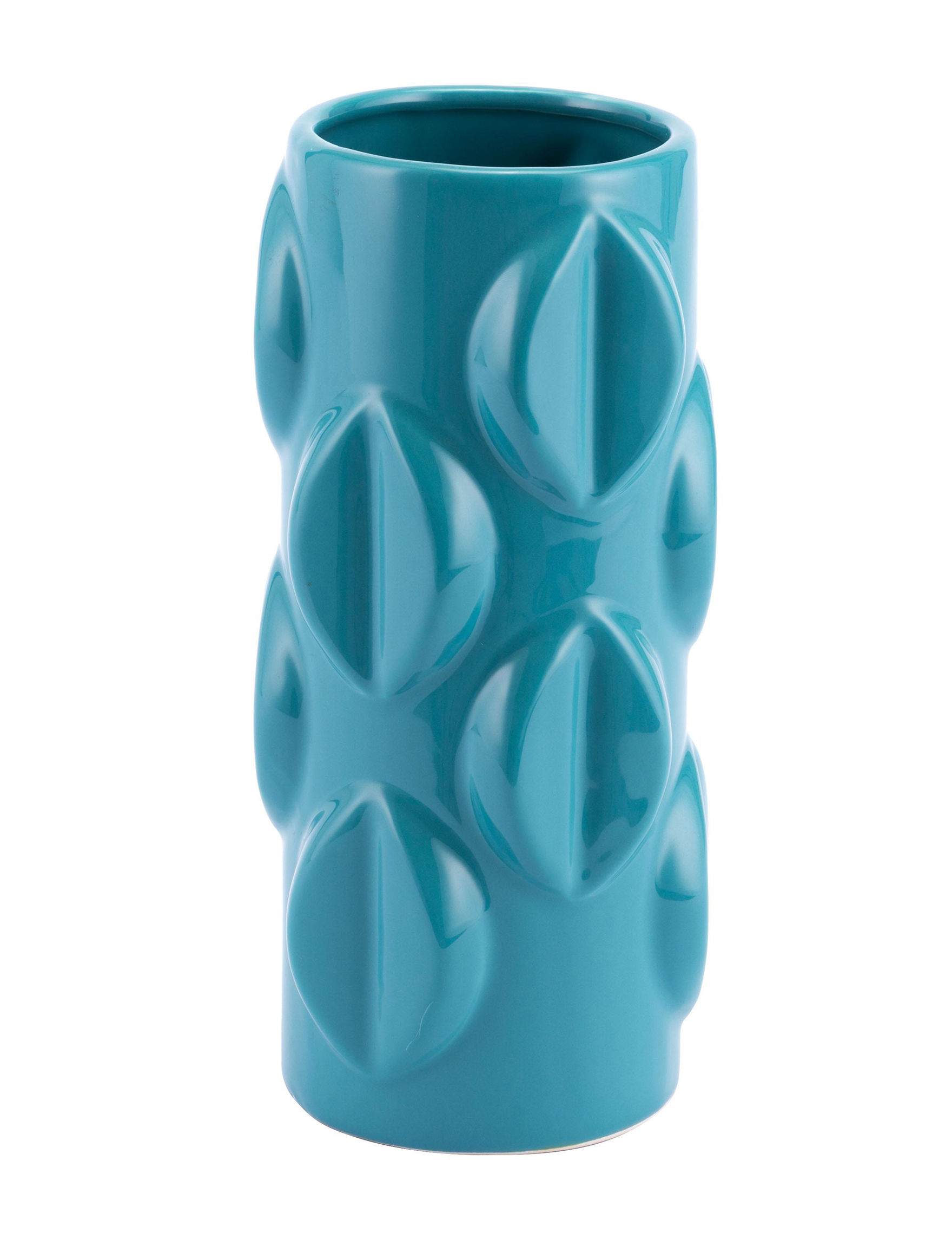 Zuo Modern Teal Vases & Decorative Bowls Home Accents