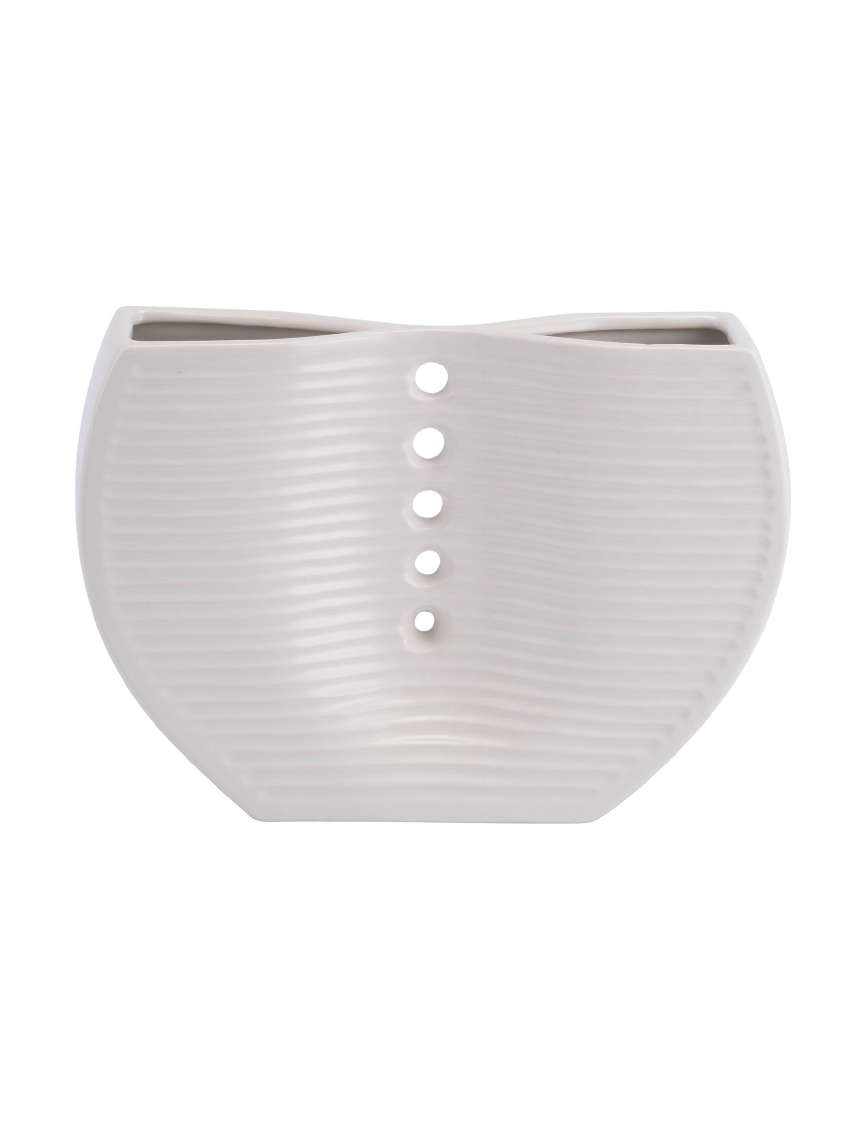 Zuo Modern White Vases & Decorative Bowls Home Accents