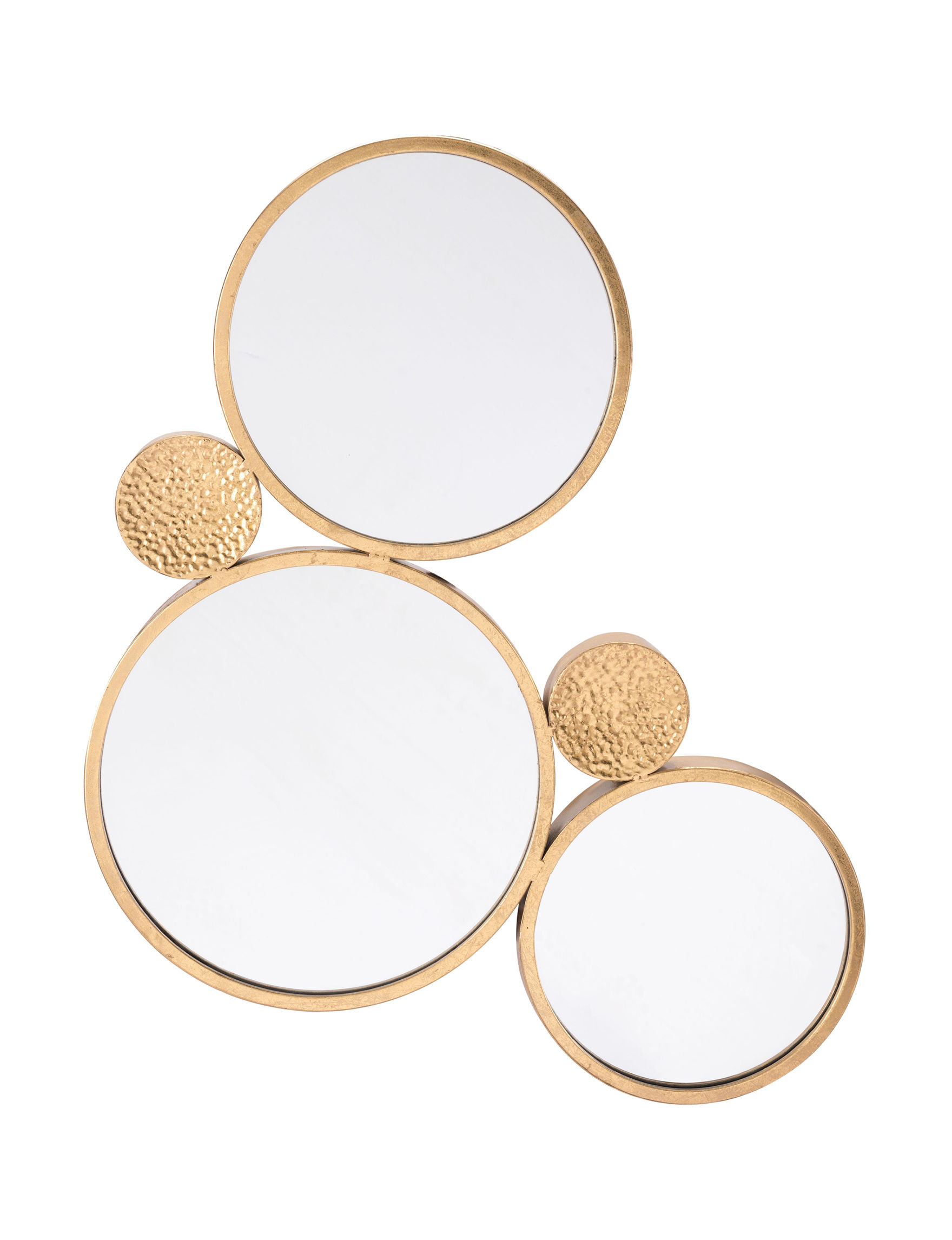 Zuo Modern Gold Mirrors Wall Decor