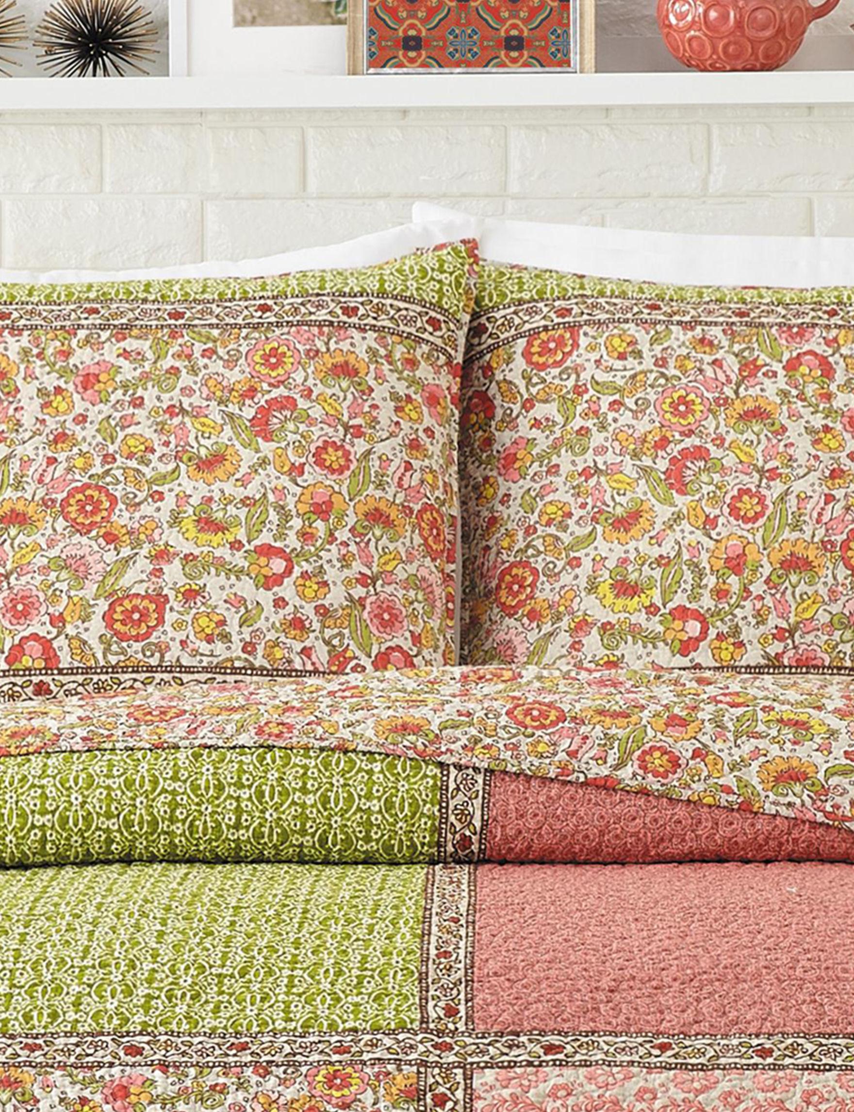 Jessica Simpson Coral Pillow Shams