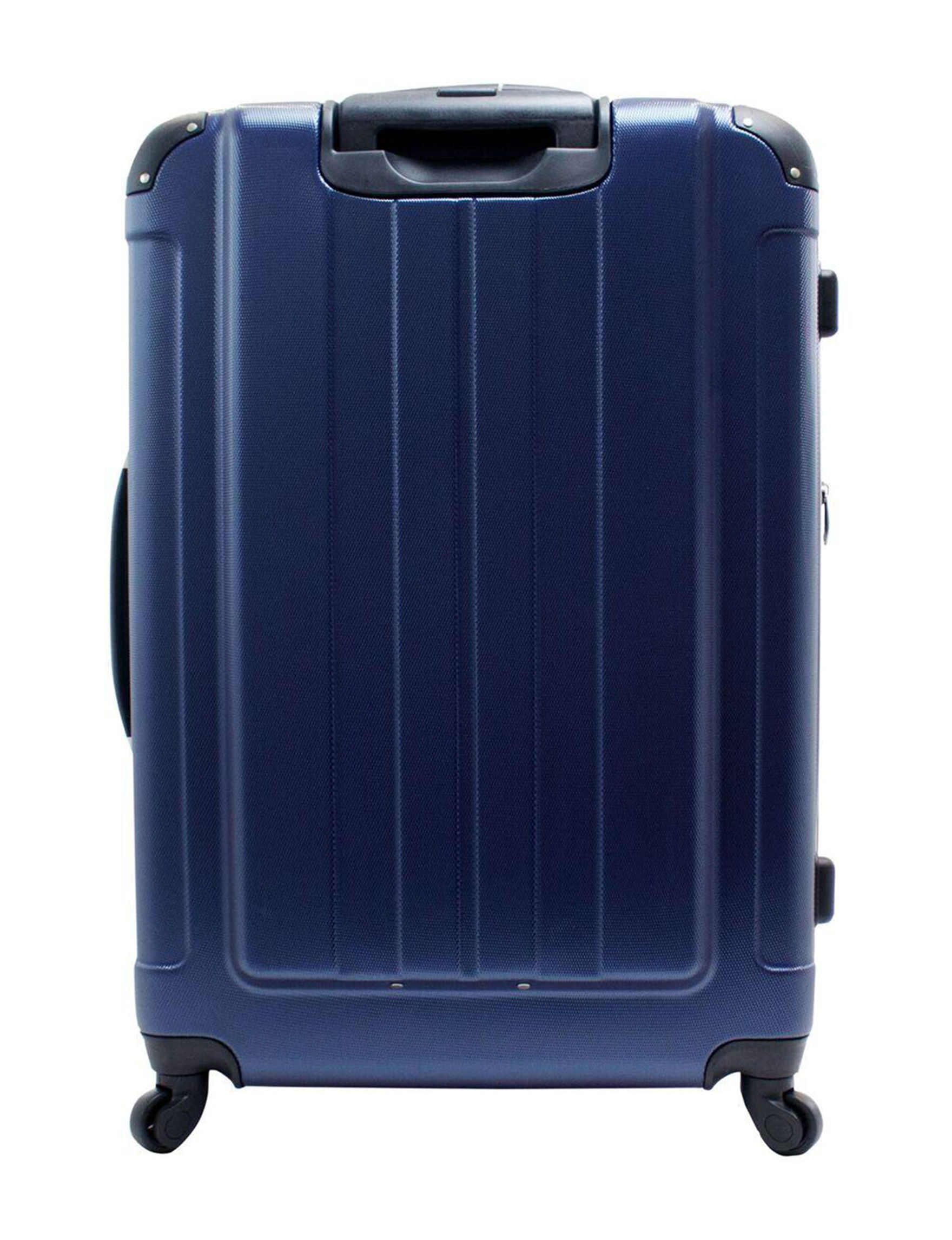Chariot Travelware Navy Upright Spinners