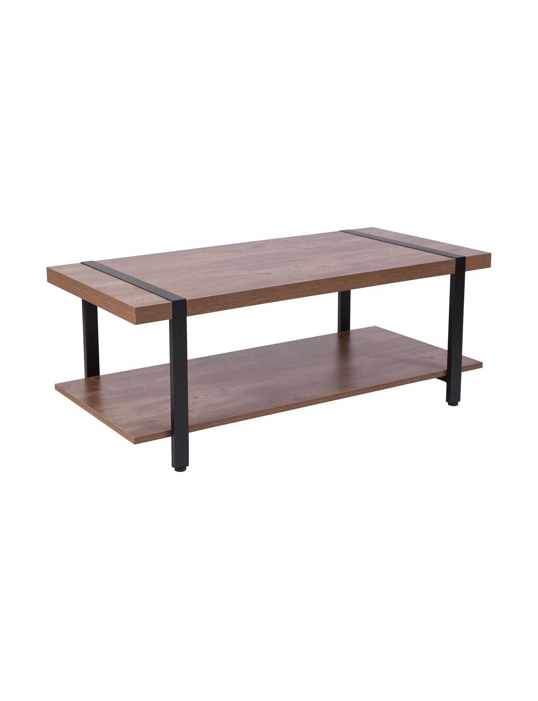 Flash Furniture Brown Coffee Tables Living Room Furniture