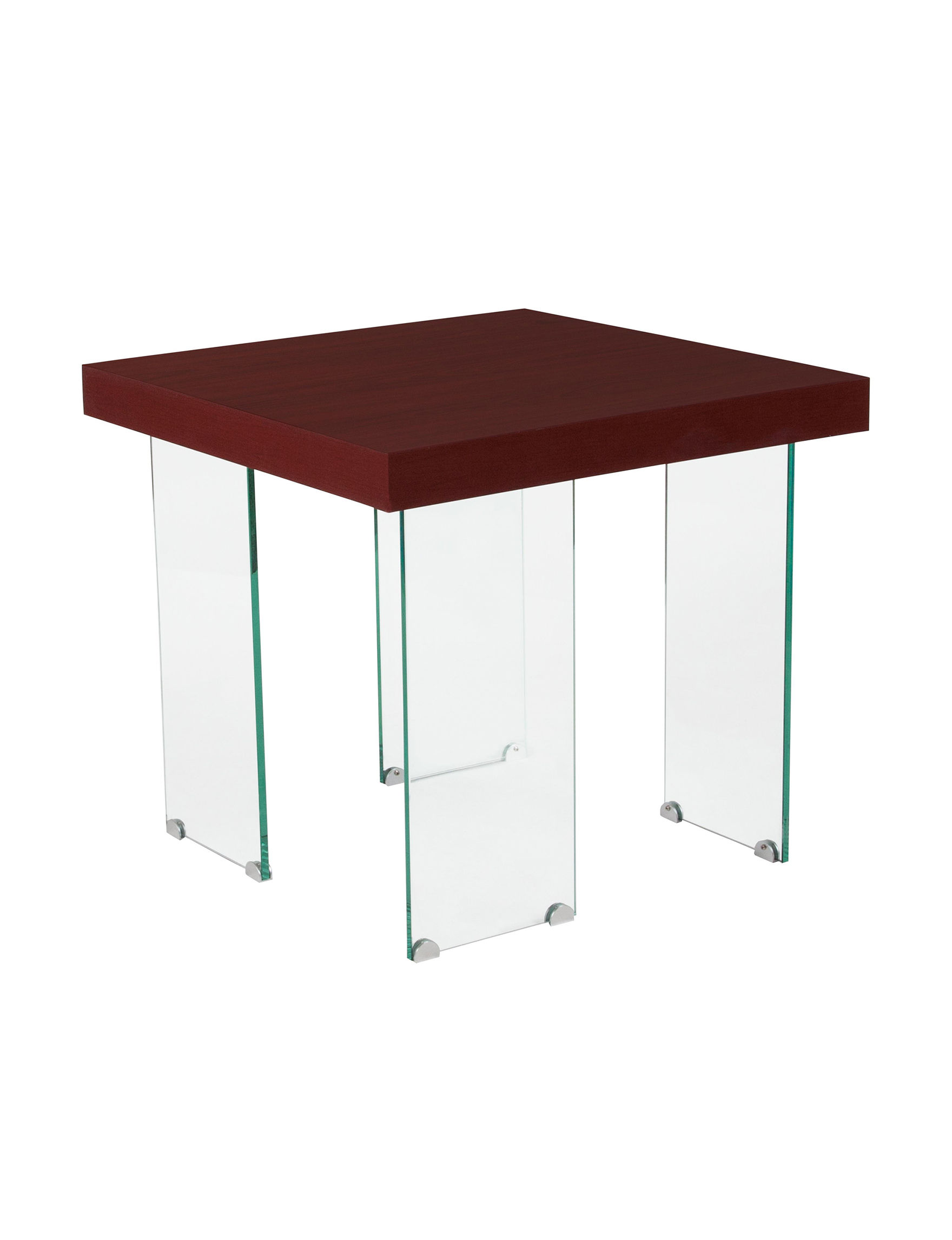 Flash Furniture Cherry Finish Accent & End Tables Living Room Furniture