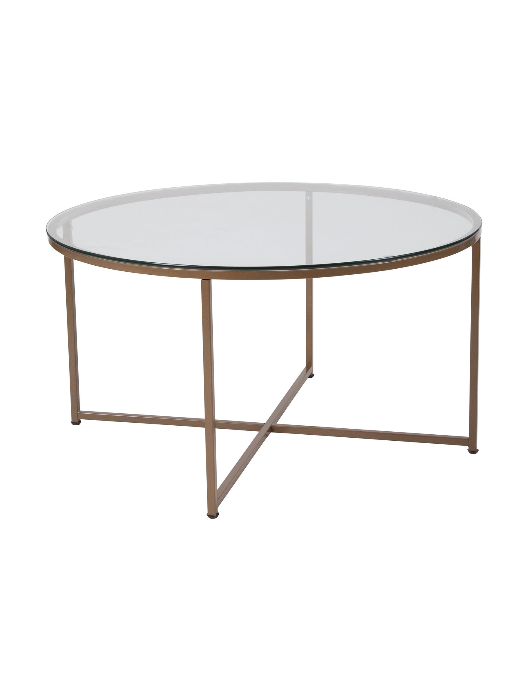 Flash Furniture Gold Coffee Tables Living Room Furniture