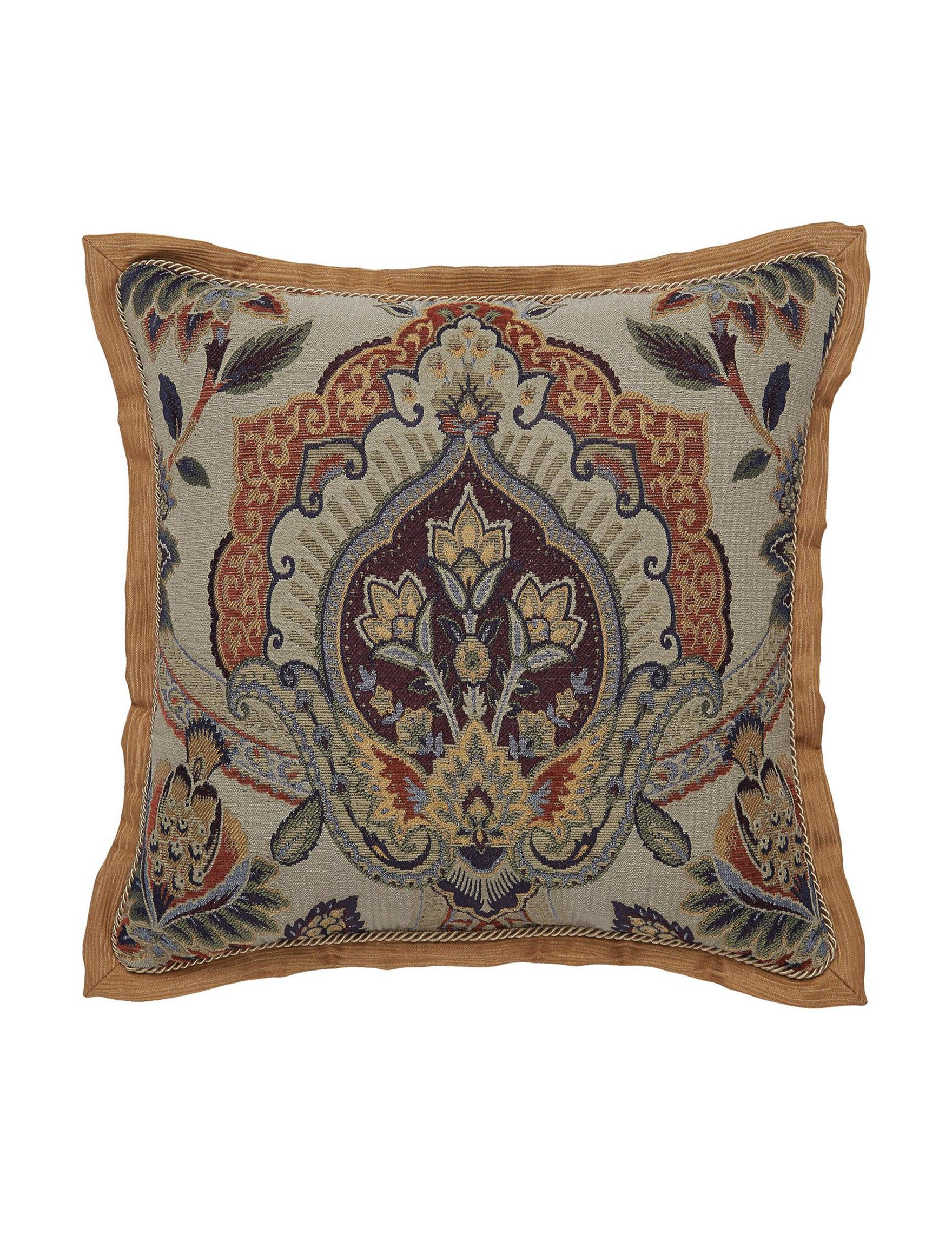 Croscill Brown Decorative Pillows