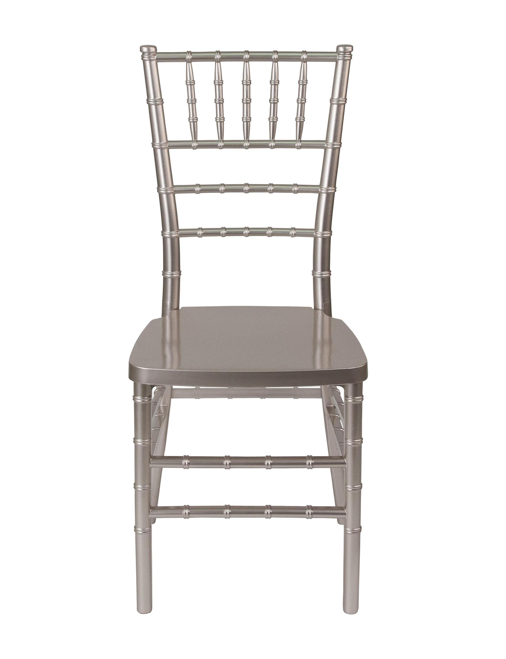 Flash Furniture Pewter Dining Chairs Kitchen & Dining Furniture