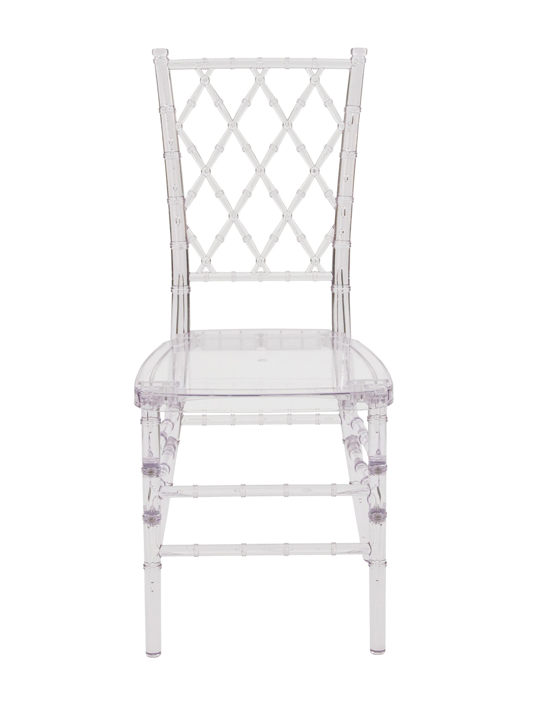 Flash Furniture Clear Dining Chairs Kitchen & Dining Furniture