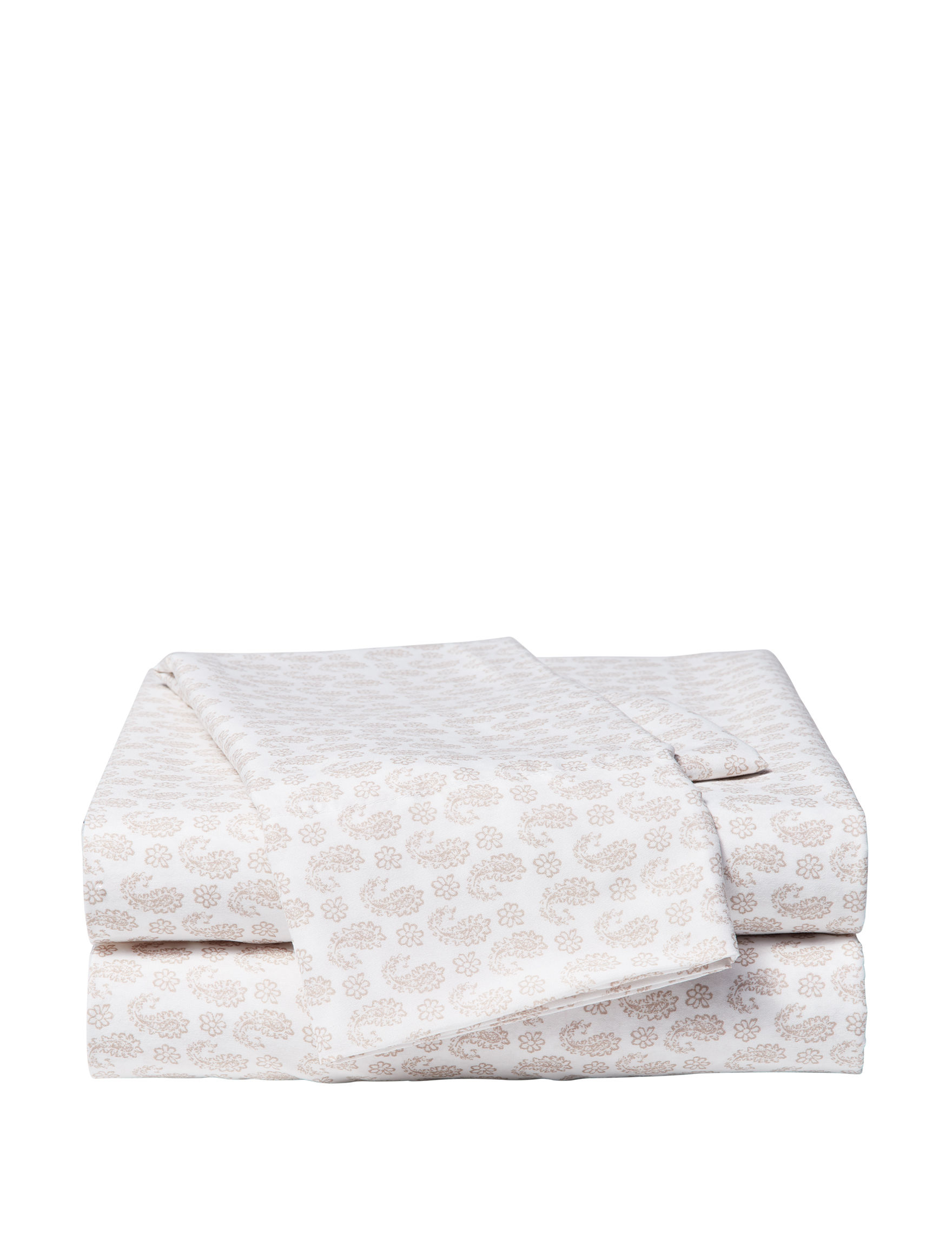 Great Hotels Collection Beige Sheets & Pillowcases