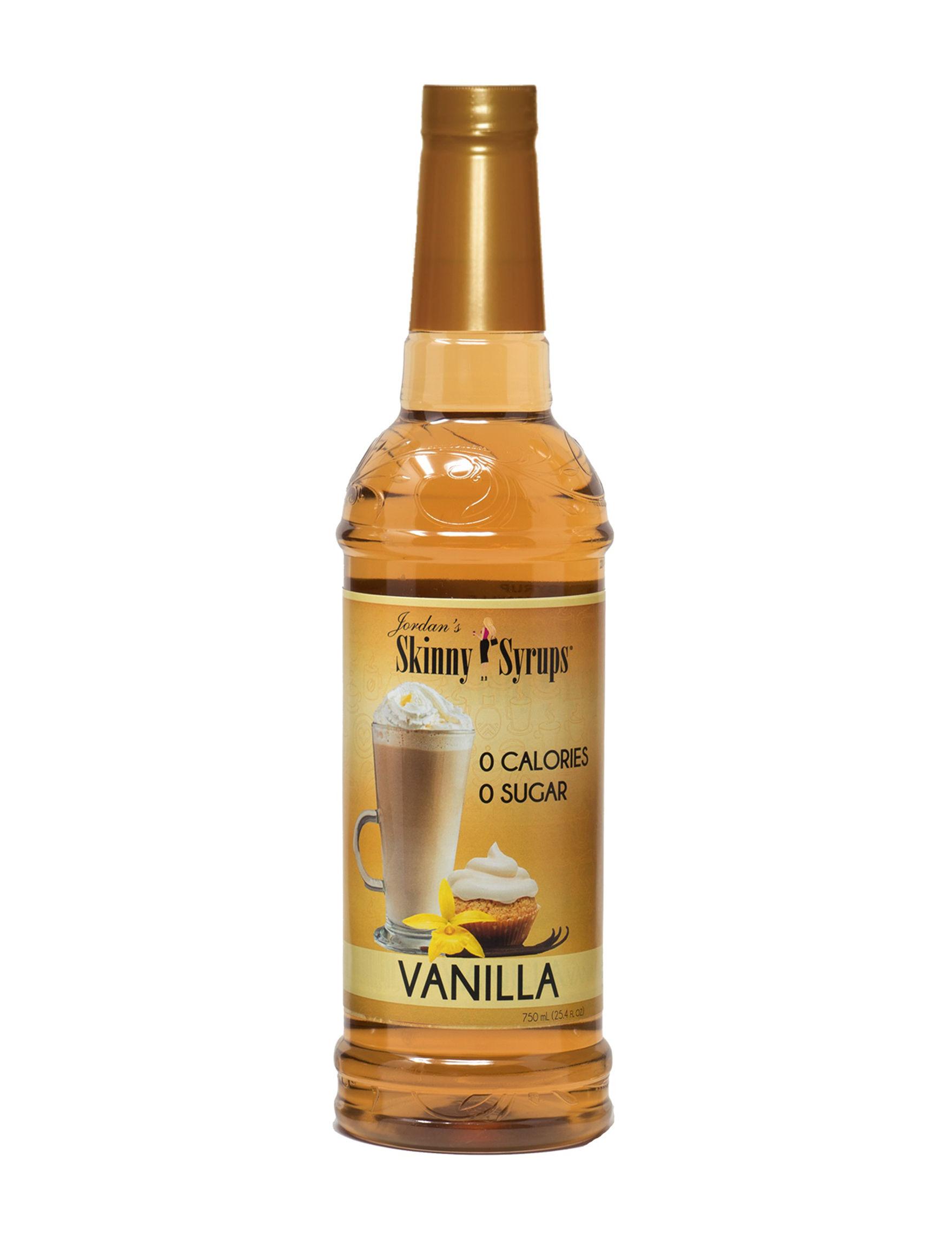 Skinny Syrups Brown Gourmet Food & Beverages