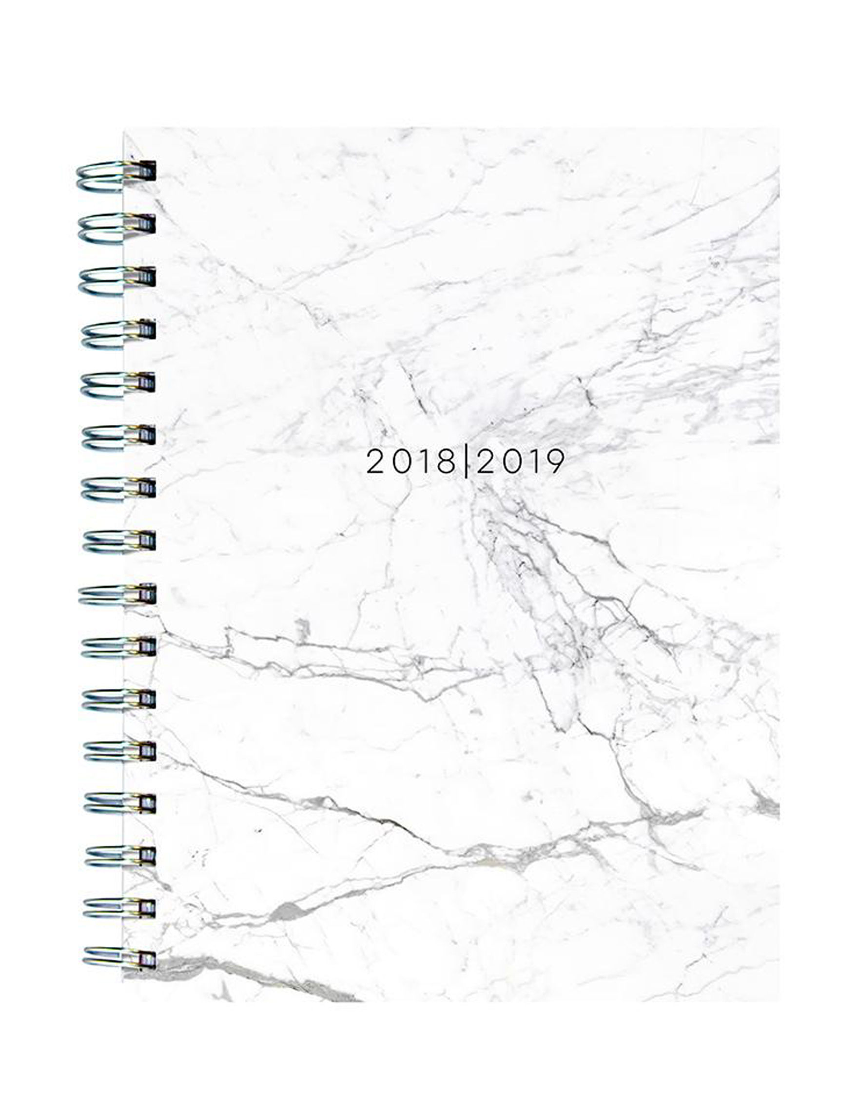 TF Publishing White / Gold Calendars & Planners School & Office Supplies